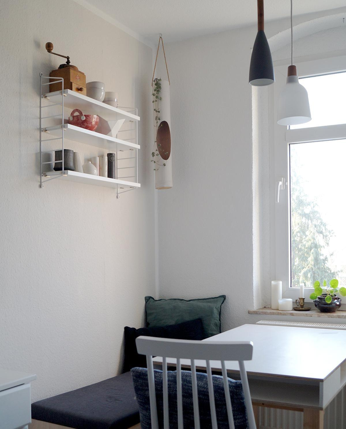 Neues Regal in der Essecke