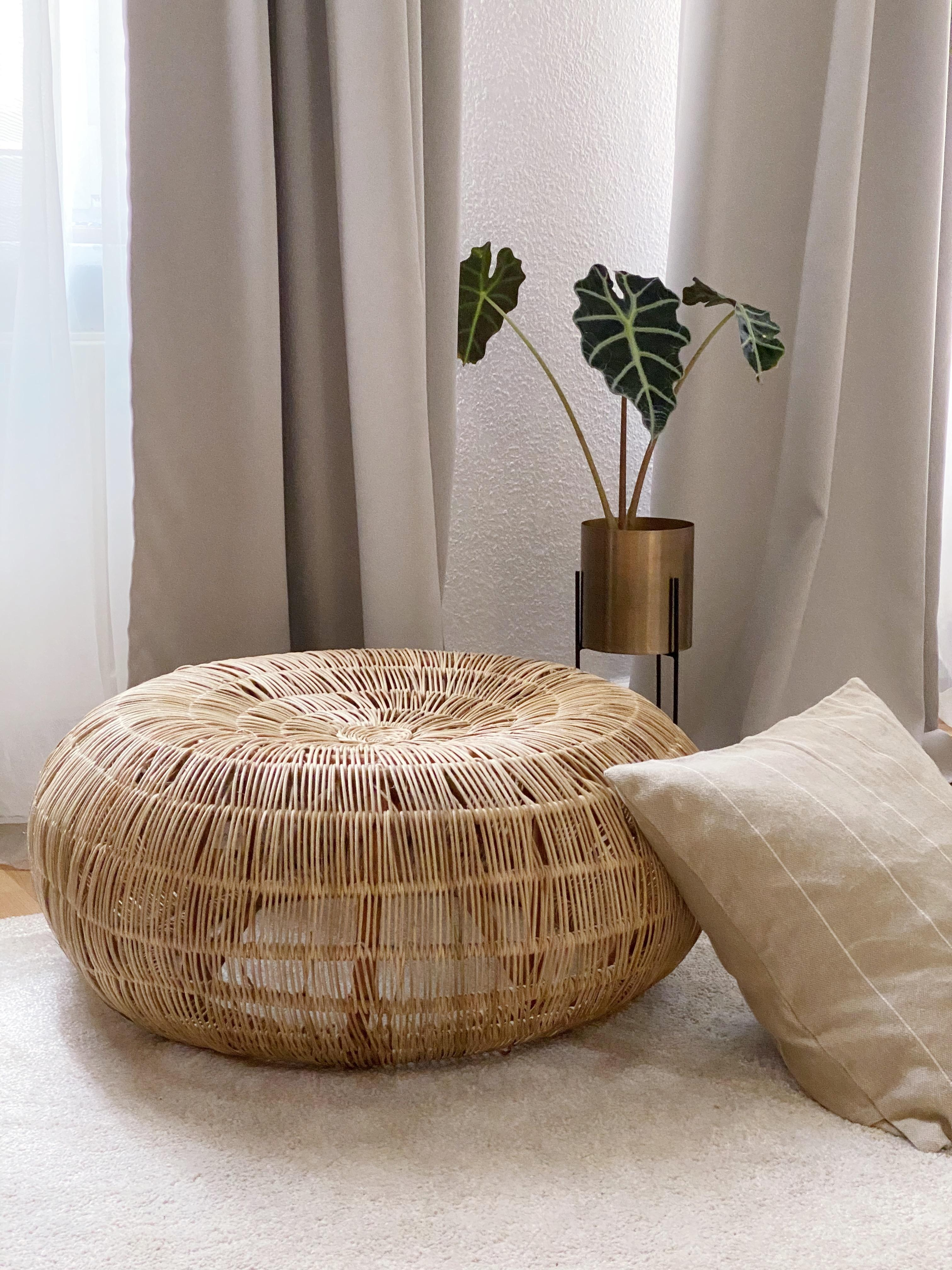 New in for some summer feeling. #zarahome #ikea #naturalinterior #rattan #summer