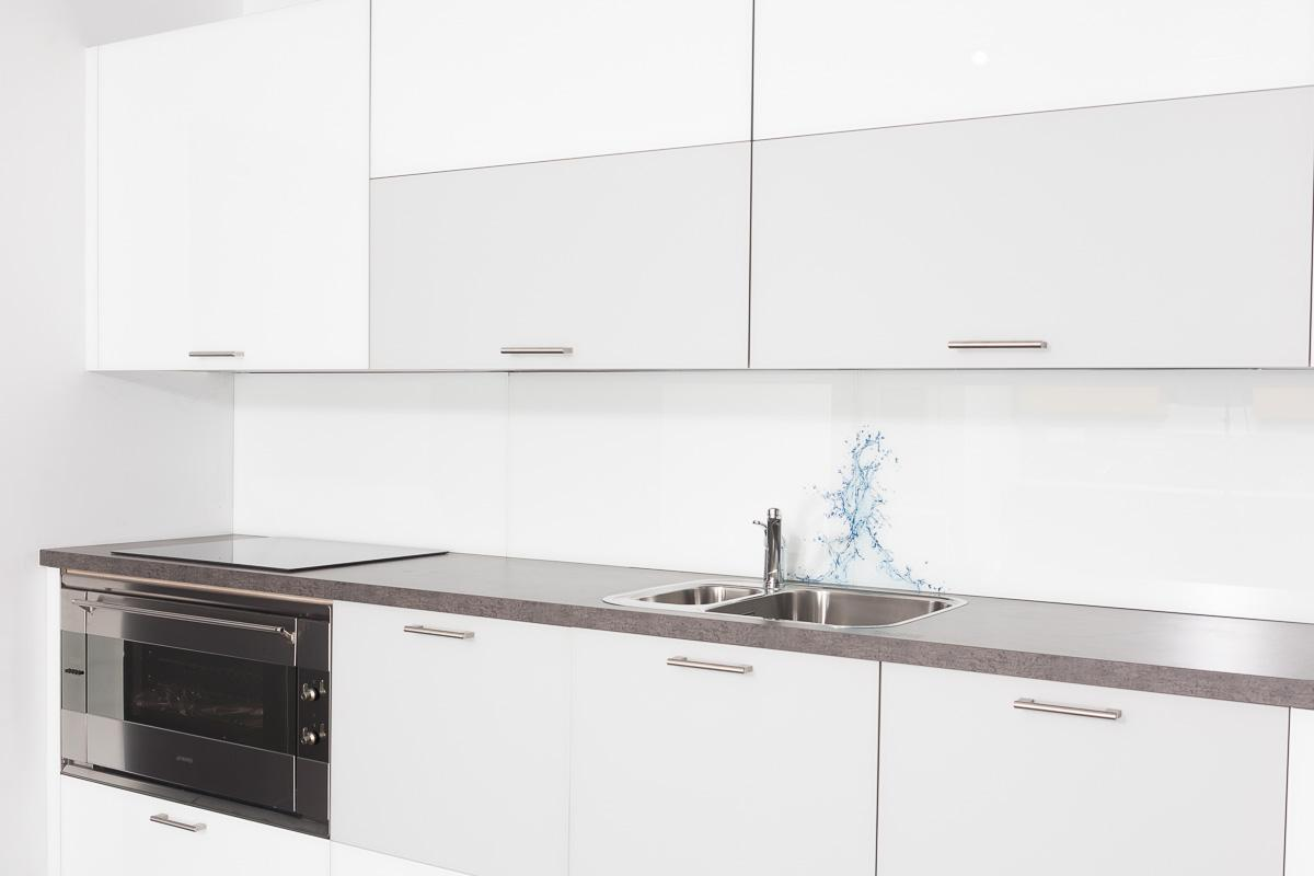 küchenrückwand aus glas - küchen regional. küche spritzschutz wand ...