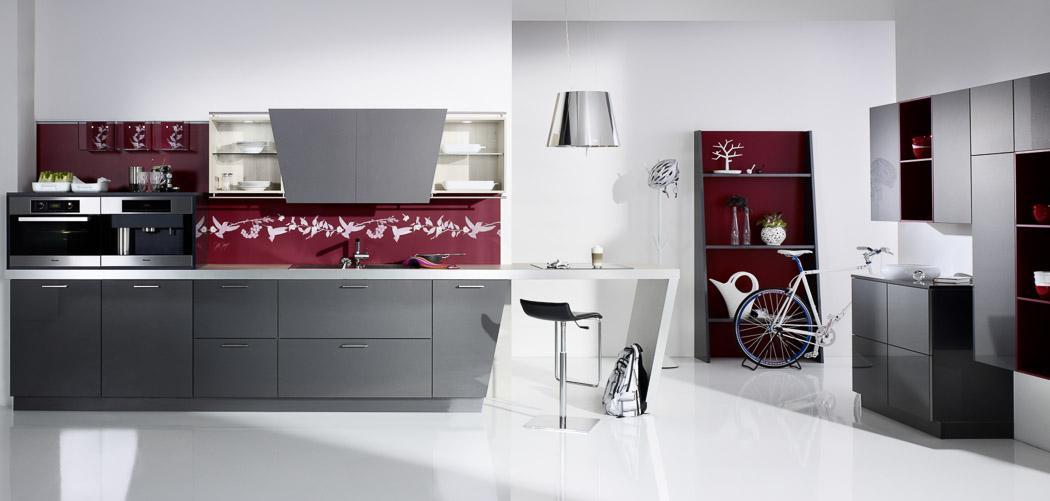 Glas für küchenrückwand  glasrückwand küche. spritzschutz für küche ? 90 coole ideen für ...