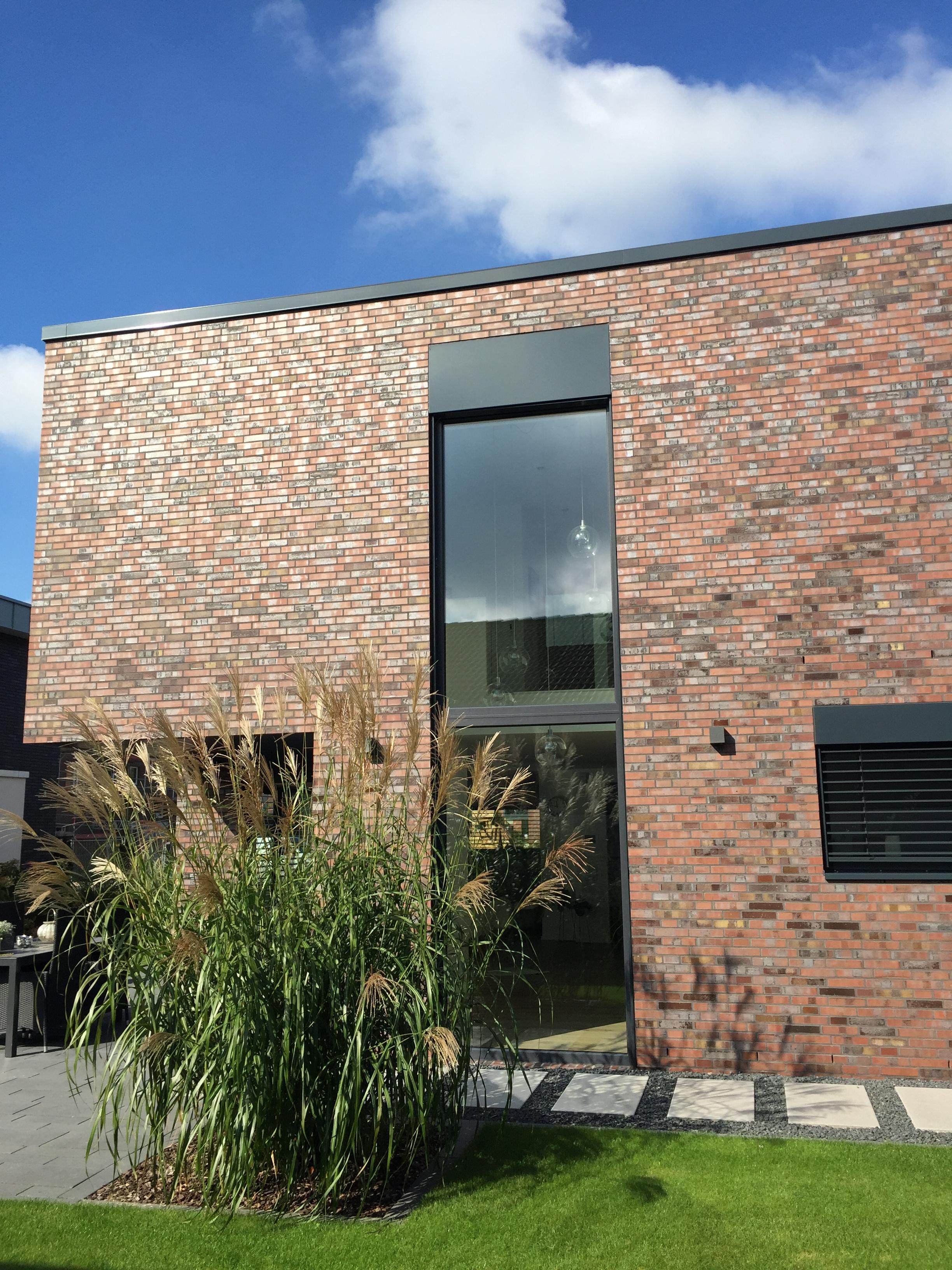 #nordisch #klinker #backstein #kubushaus #architektur