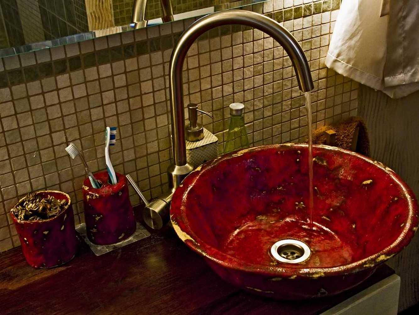 Nostalgie Waschbecken Retro Design Waschbecken Bad