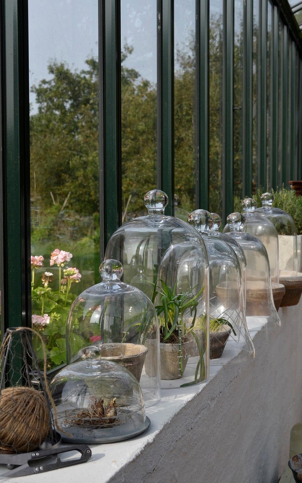Gartendeko Nostalgisch, nostalgische gartendeko - glasglocken #glasglocke ©i, Design ideen