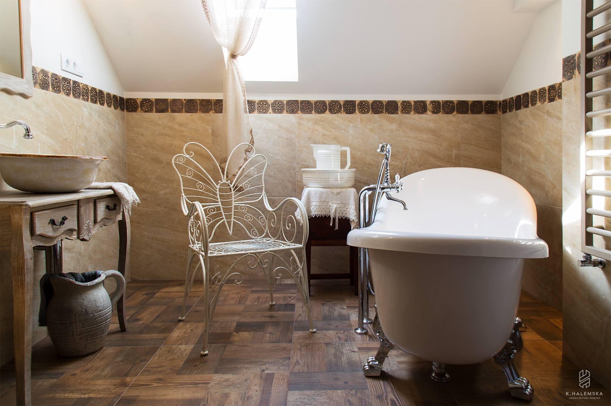 Nostalgische Waschbecken Badezimmer - Blumen Waschbe...