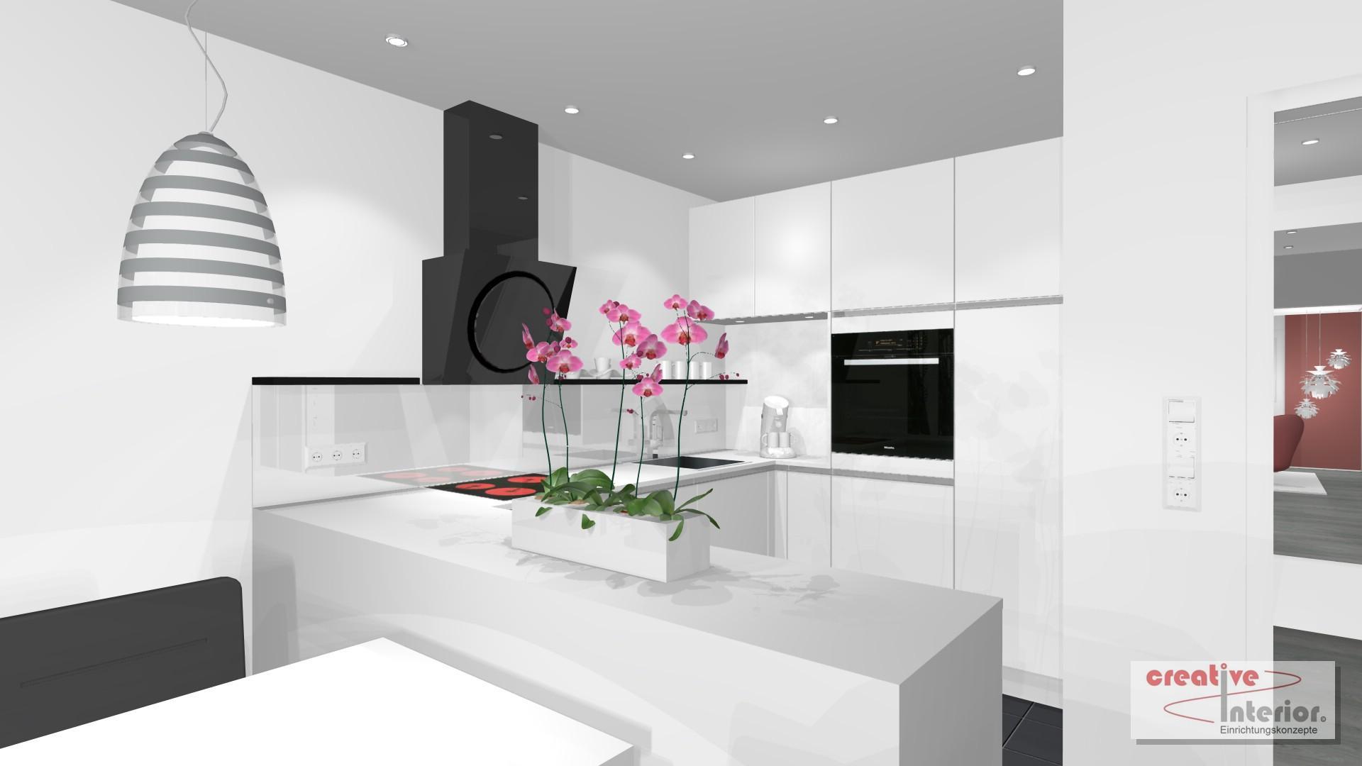 offene Single Küche #küche #esstisch #wandleuchte #w... • COUCHstyle | {Single küche 29}