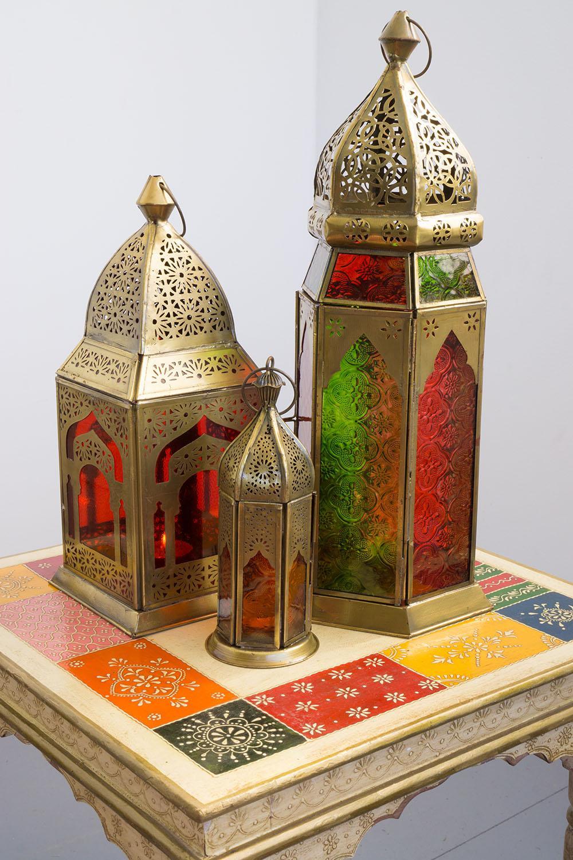 orientalische laternen mit teelichtern best ckt t. Black Bedroom Furniture Sets. Home Design Ideas