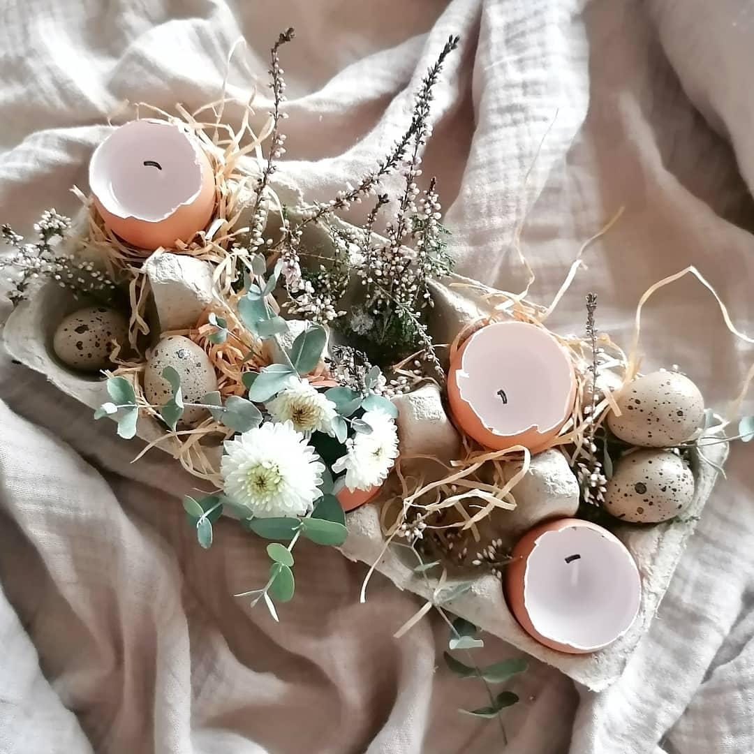 #osterdekoration #selbstgemacht #easter #easterdecor #easteregg #easterbunny #eastereggs #scandilovers #nordicliving