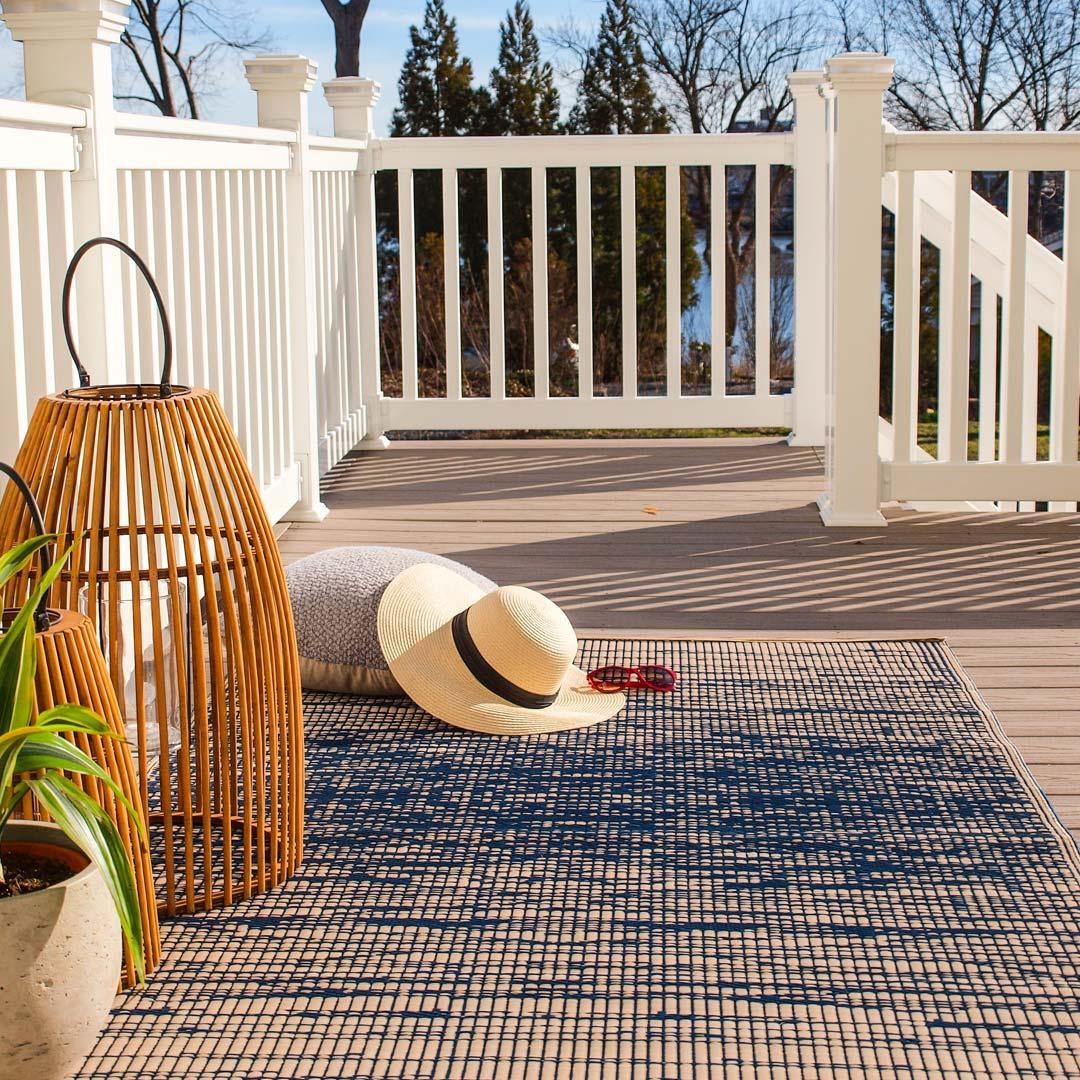 Outdoor Teppiche verschönern einfach jede Terrasse ....