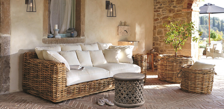 outdoor wohnzimmer sofa loberon couchstyle. Black Bedroom Furniture Sets. Home Design Ideas