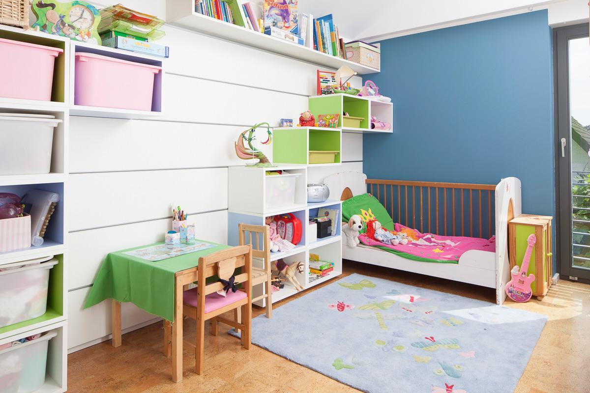 Paneelsystem Kinderzimmer #wohnwand ©HWD GmbH • COUCH
