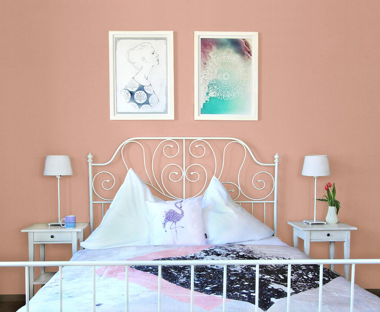 Schlafzimmer wandgestaltung bilder ideen couch for Zimmergestaltung ideen