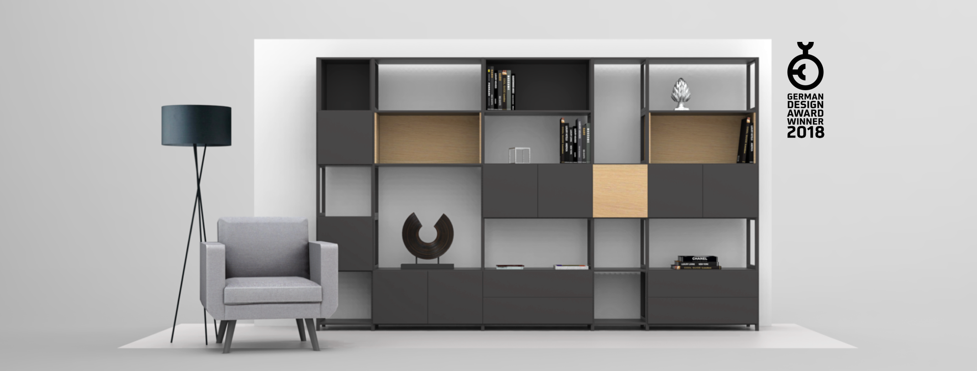 Wohnwand Stauraum Schaffen Mit Ideen Bei Couch