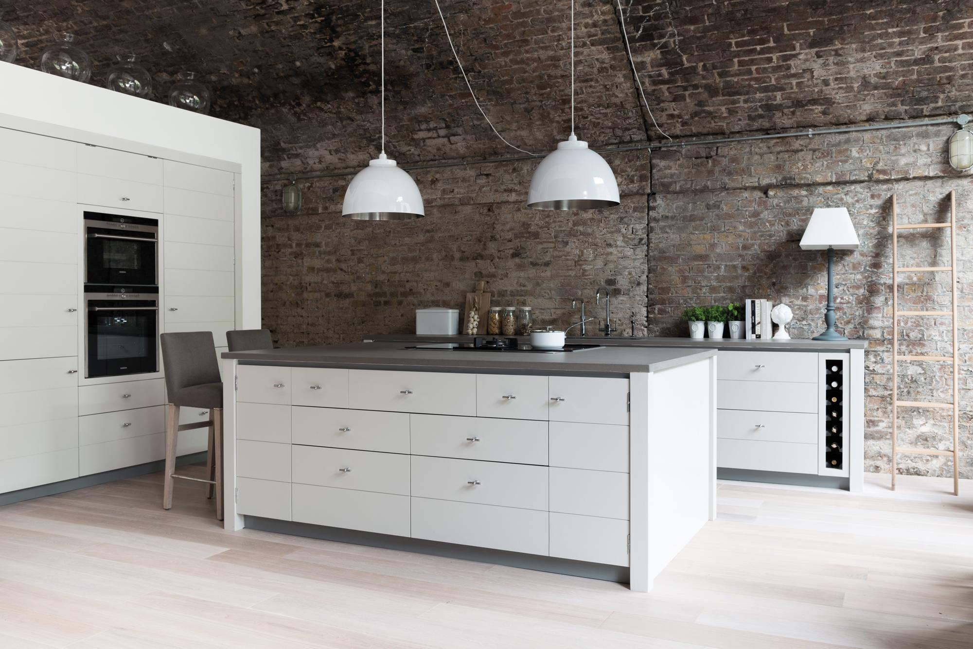 Pendelleuchten in Weiß #küche #pendelleuchte #backst