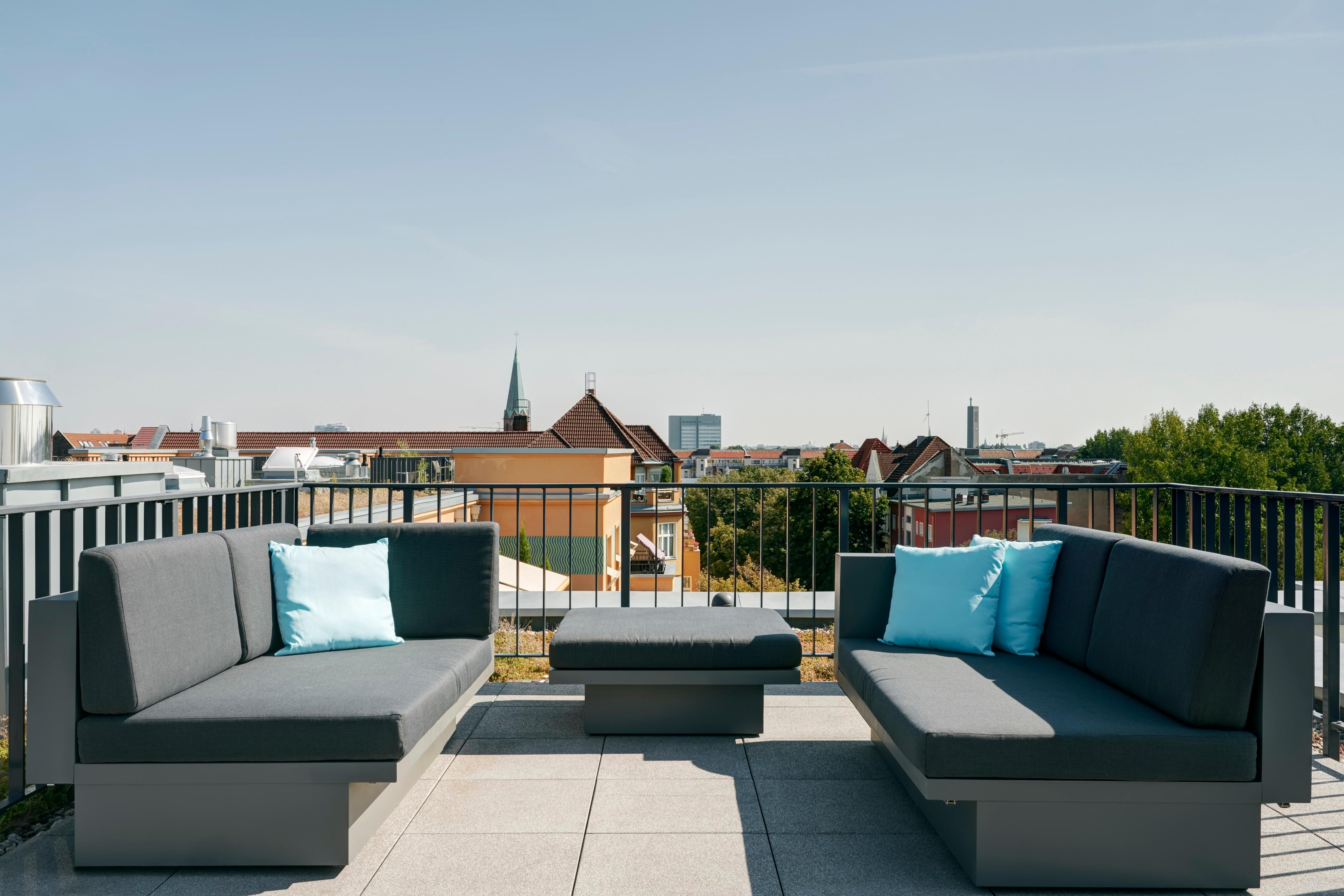"""PENTHOUSE WÜRTTEMBERG"" in Charlottenburg #terrasse #luxus #dachterrasse #penthouse ©SUITE.030"