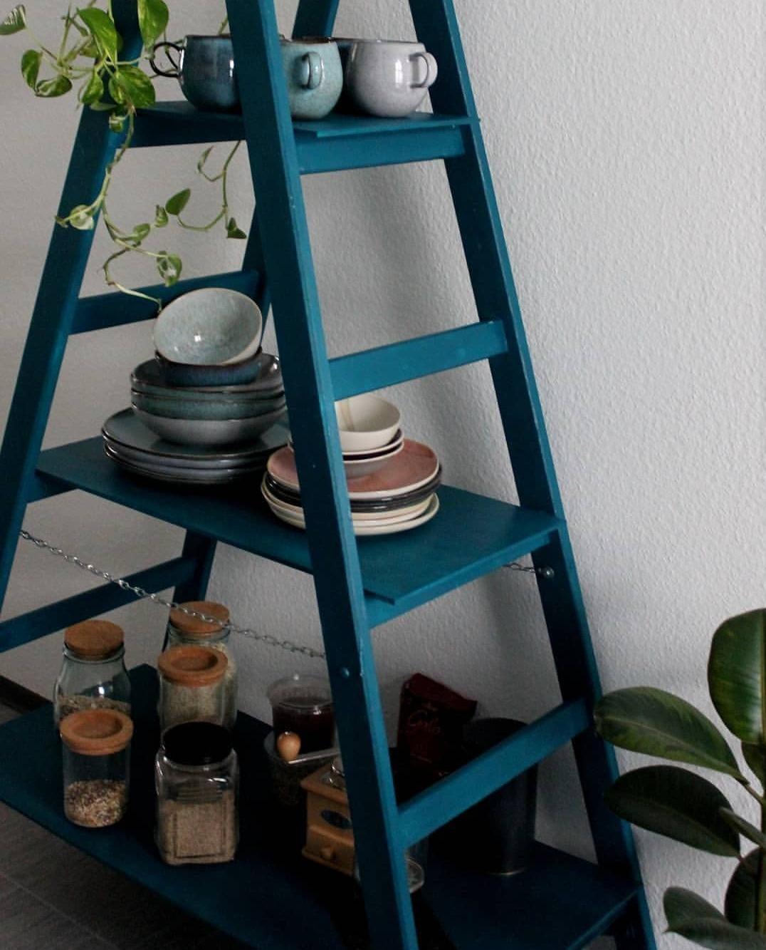 Küche Petrol | Petrol Diyweek Diyregal Diy Kuche Skandinavisc