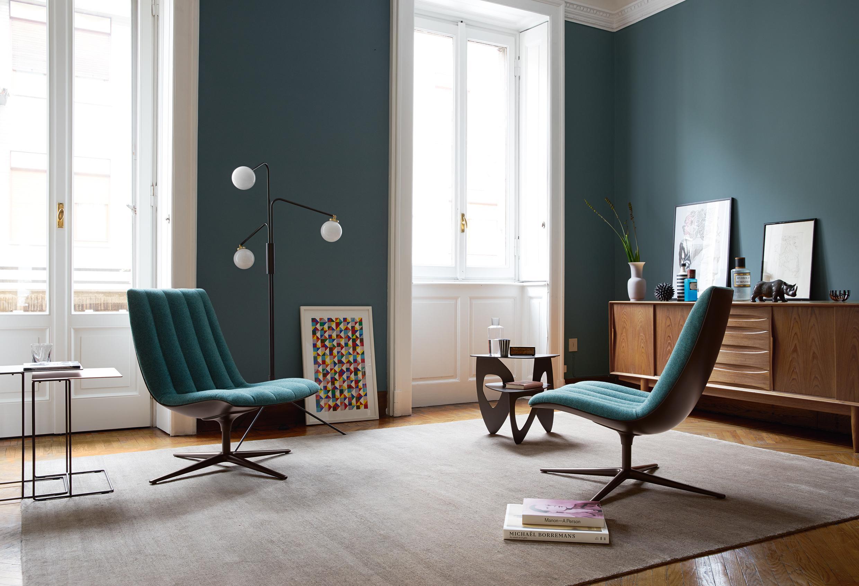 Blaue Wandgestaltung • Bilder & Ideen • COUCH
