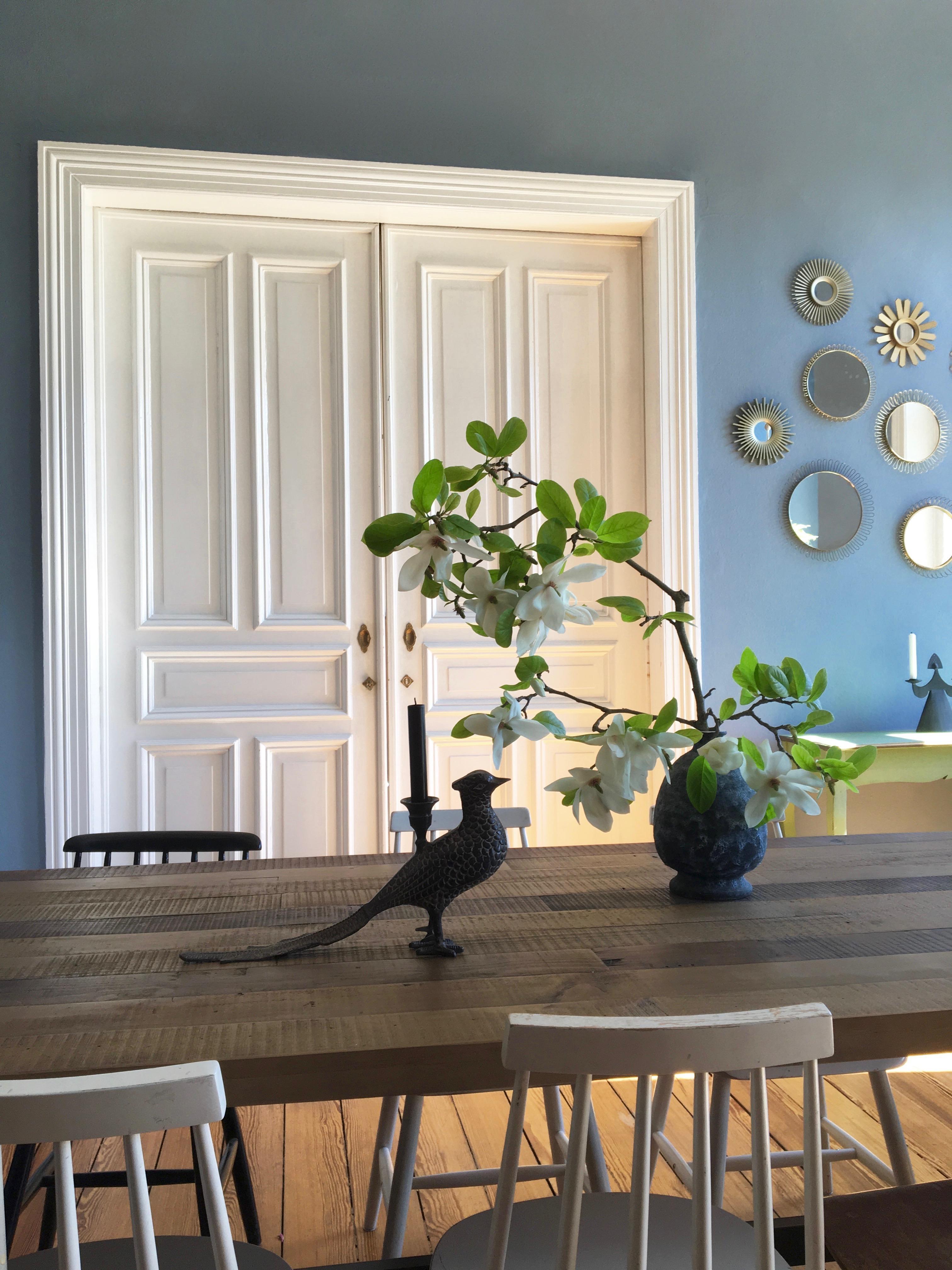 Pfauenliebe Altbau Dielenboden Midcentury Vintage Esszimmer Wohnzimmer  Ce86a22a 6bdd 4e11 A20c 1b1bf3c0833c