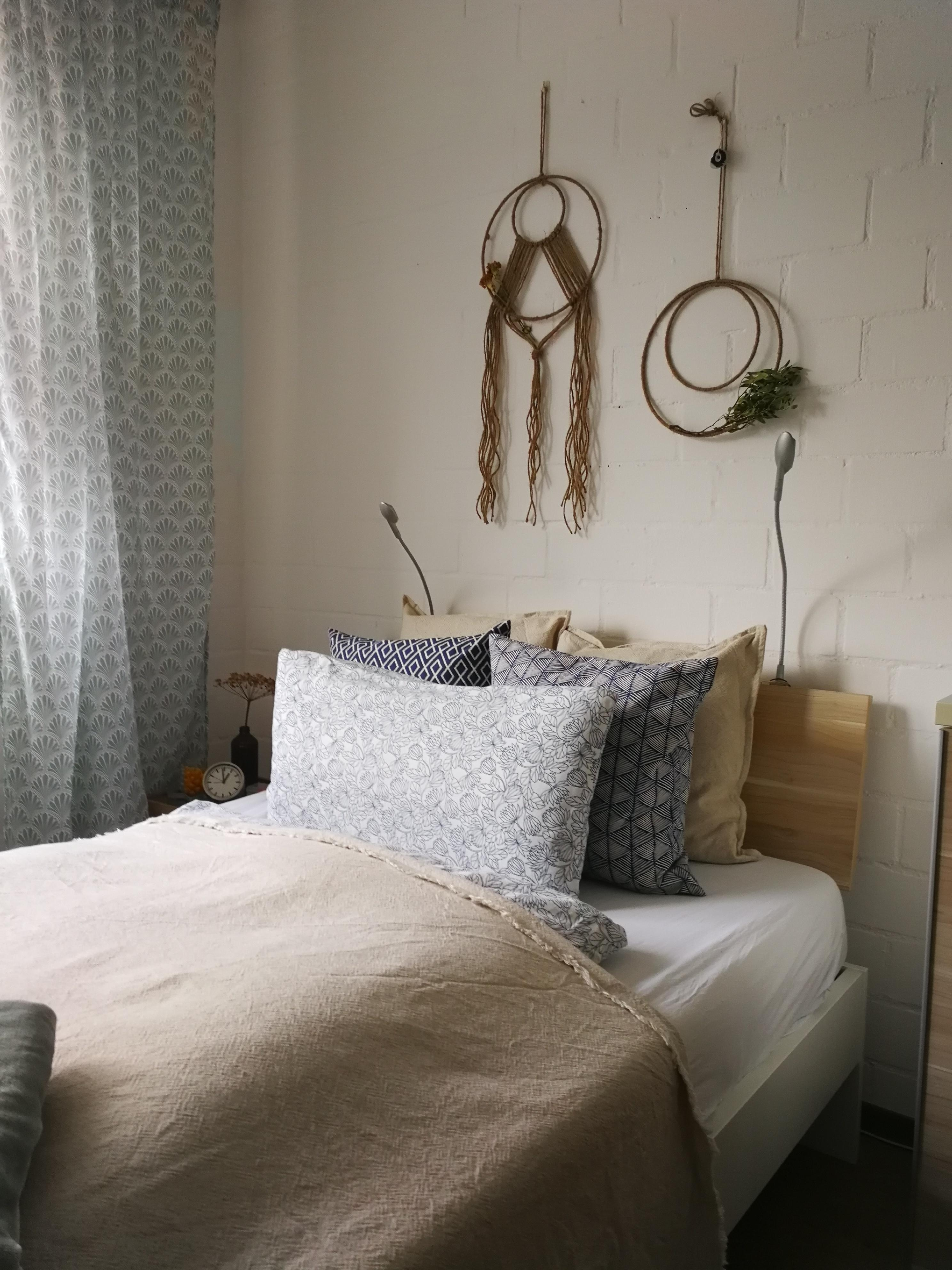 #placetobe #bedroom #schlafzimmer #cosiness #interior #wallhanging