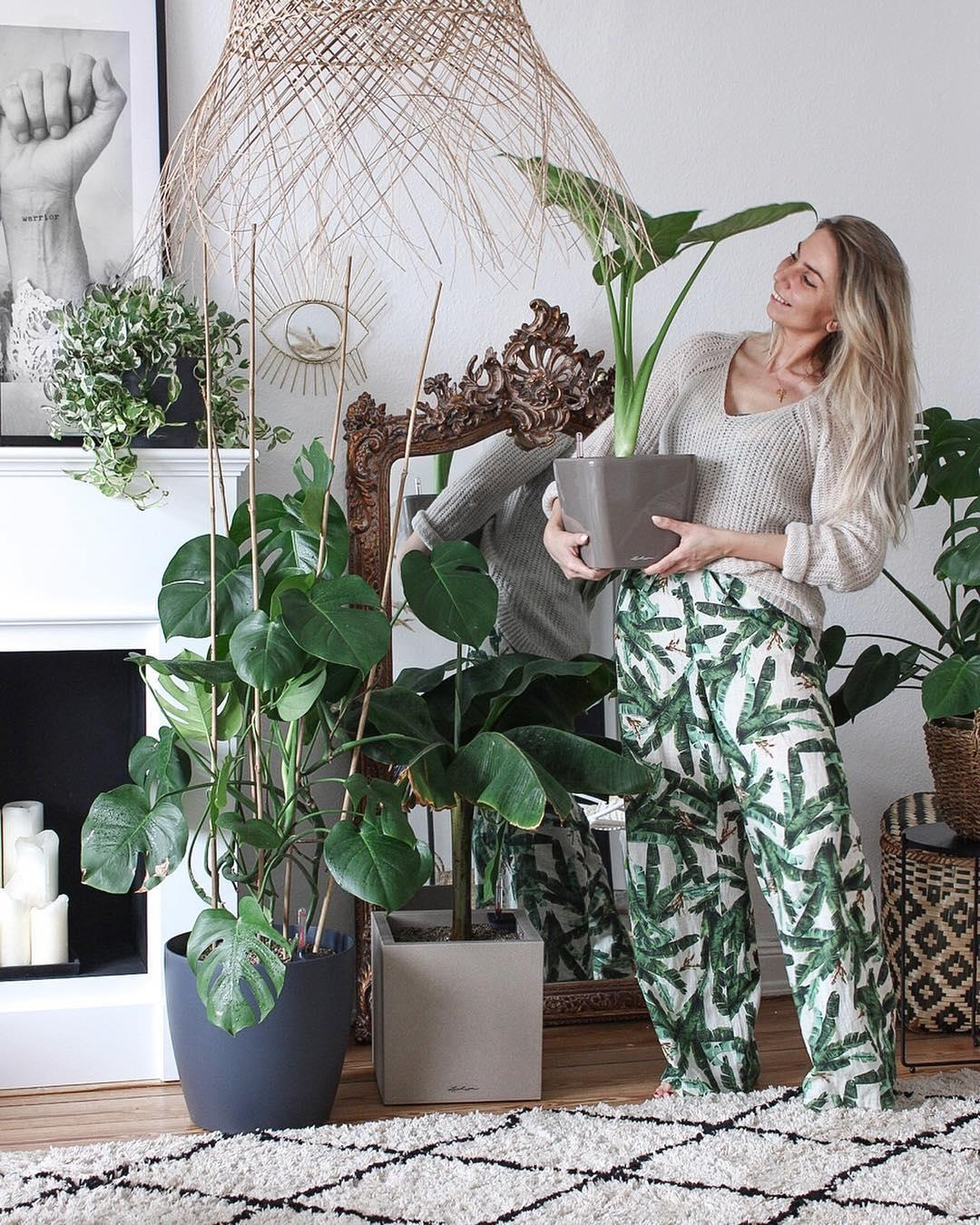 #Plants are my friends.
