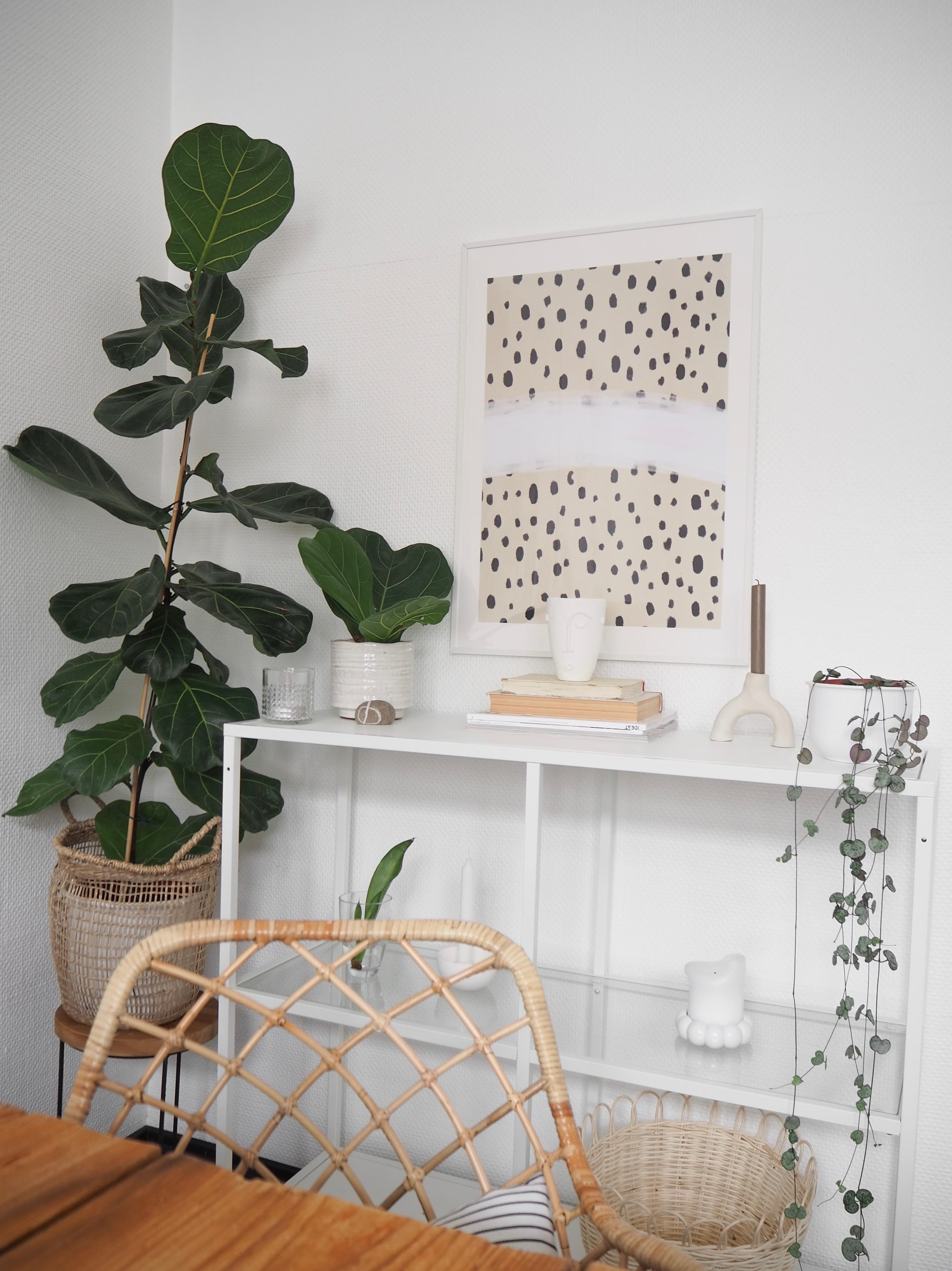 Wandgestaltung Wohnzimmer Wandregal Ideen