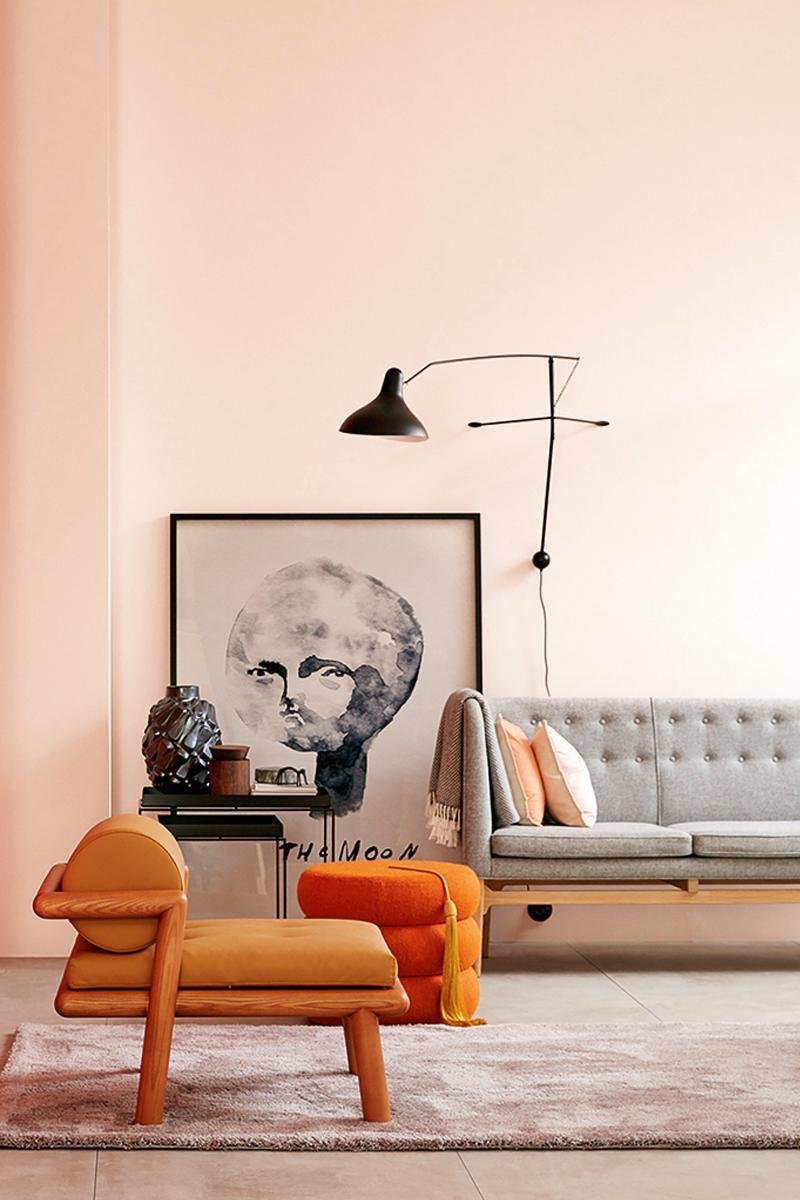 Rosa Wandfarbe • Bilder & Ideen • COUCHstyle