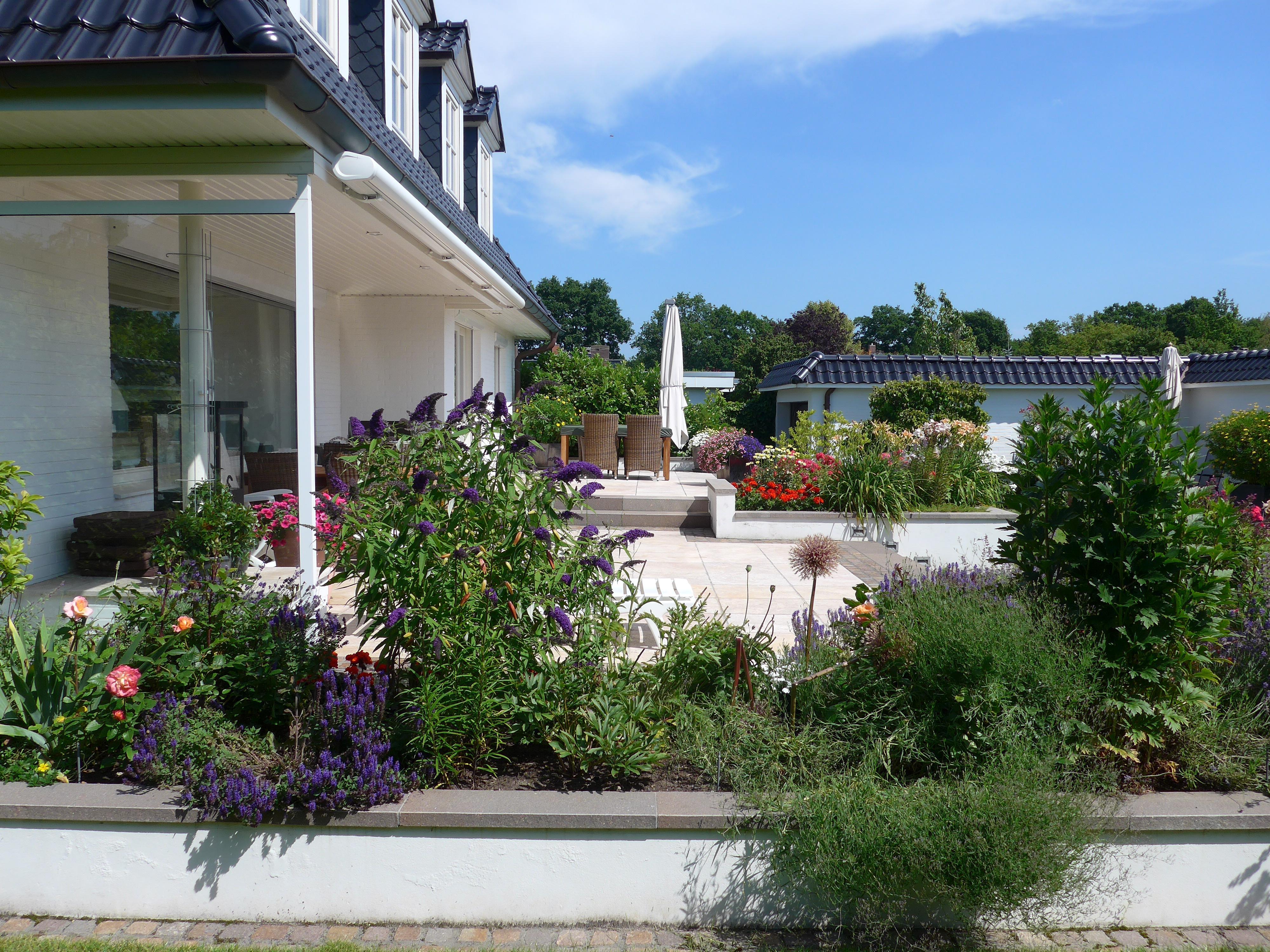 Gartengestaltung Pinneberg privatgarten in pinneberg terrasse gartengestaltun