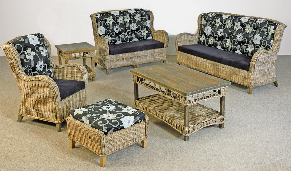 Rattan-Sofa • Bilder & Ideen • COUCHstyle