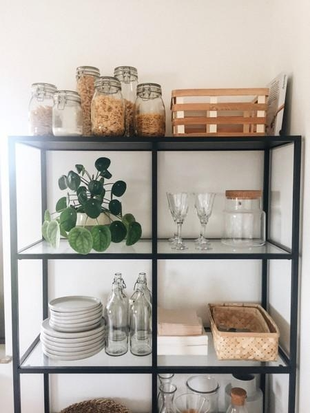 Regalliebe. #shelfie #regal #küche #kitchen #home #interior #industrial #urban #plants #green