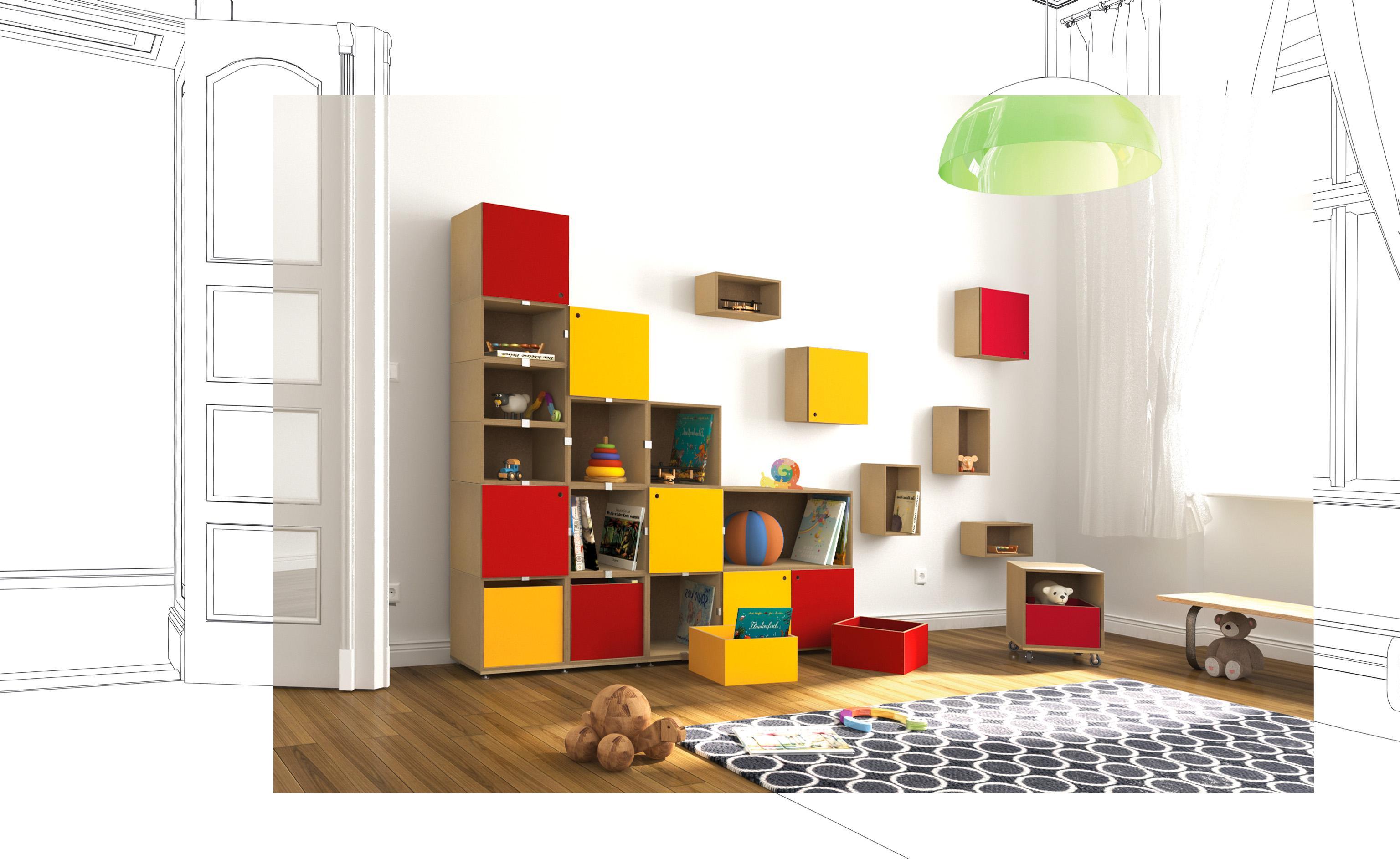 Kinderzimmer Regal | Kinderzimmer Regal Bilder Ideen Couch
