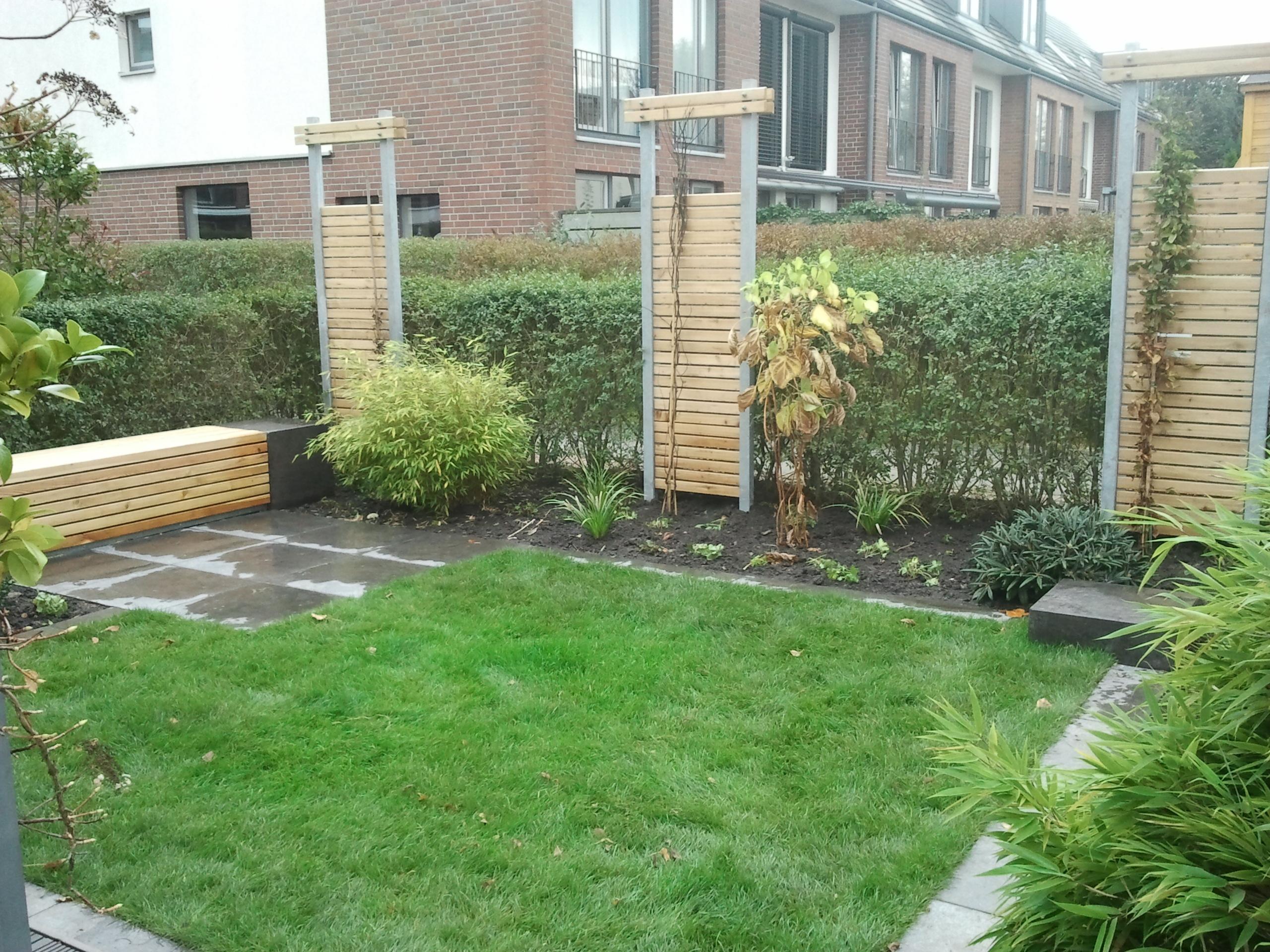 Reihenhausgarten Sichtschutz reihenhausgarten sichtschutz irene alberts