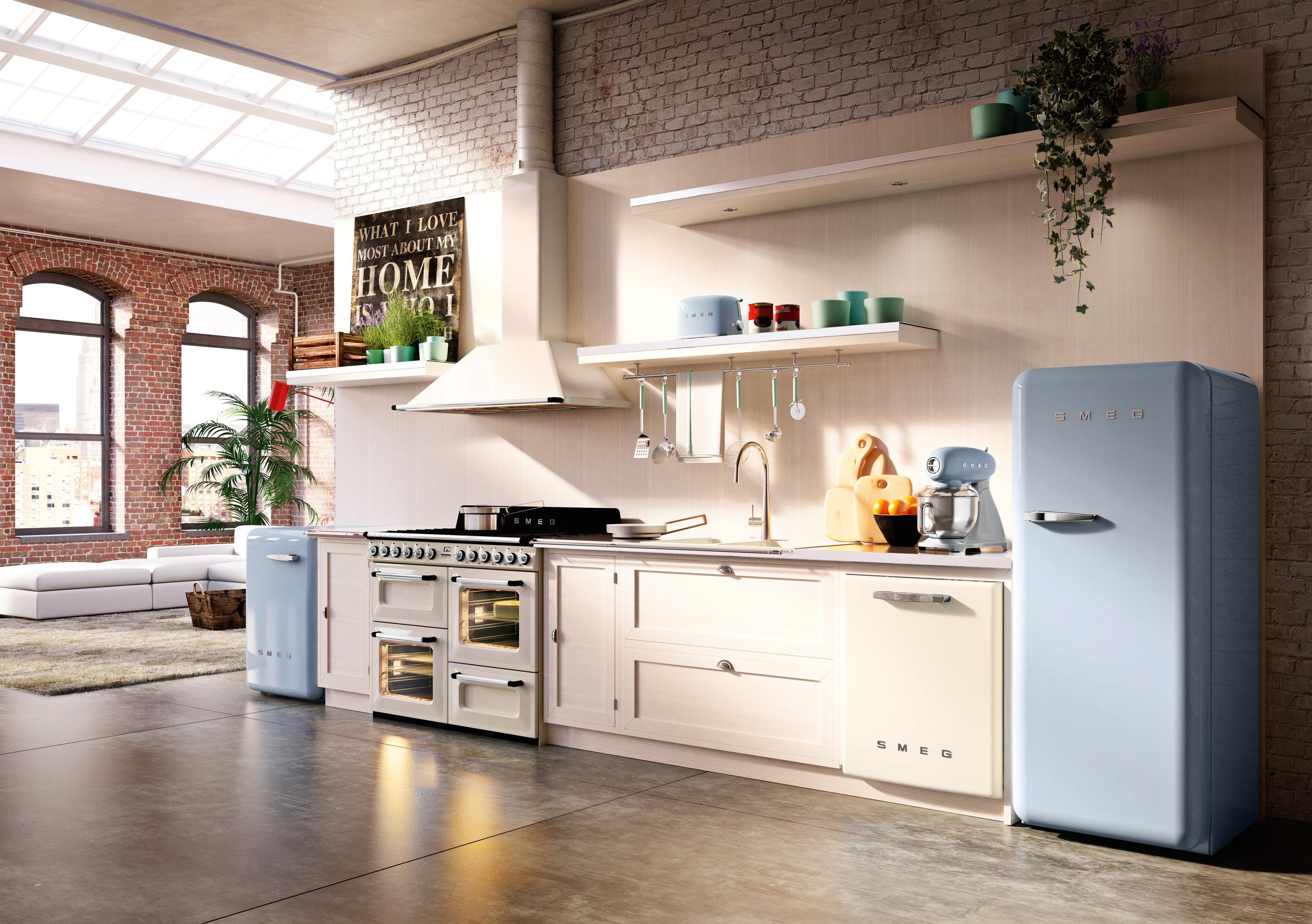 Retro Kühlschränke Von Smeg #retro #kühlschrank #retrokühlschrank ©Smeg