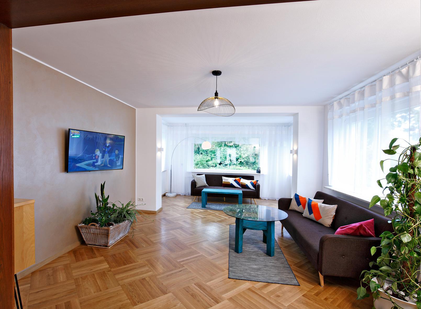 Retro-Wohnzimmer: Wohnen wie früher