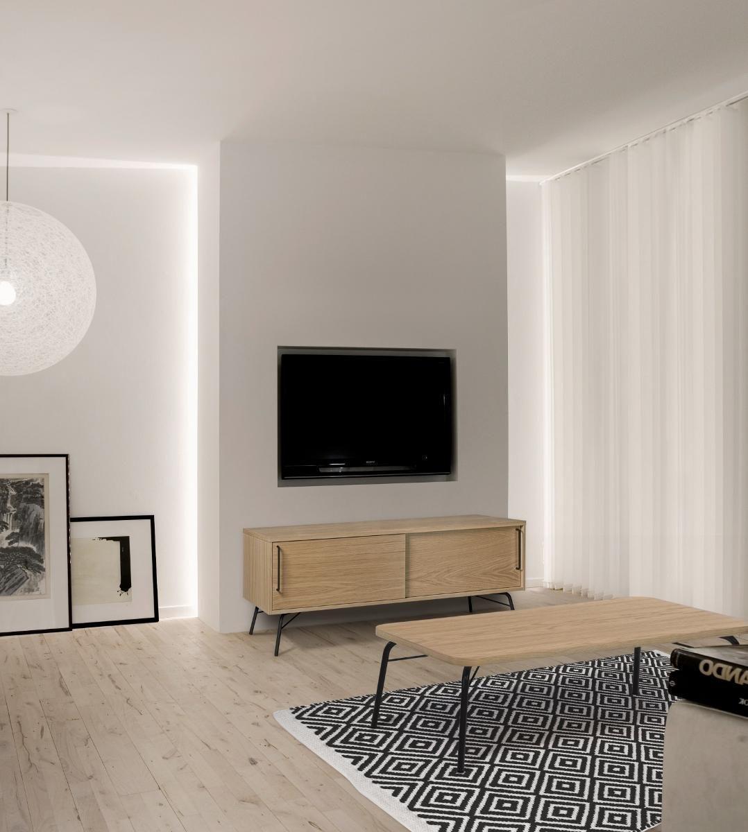Retro Und Vintage Look Im Wohnzimmer Couch