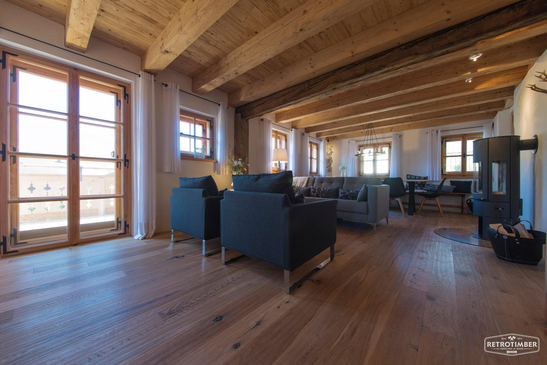 Retrotimber #holzhaus #altholz ©Franz Habisreutinger GmbH & Co. KG