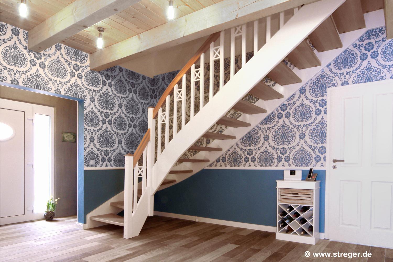 robust und sicher treppe streger - Treppe Mitten Im Wohnzimmer