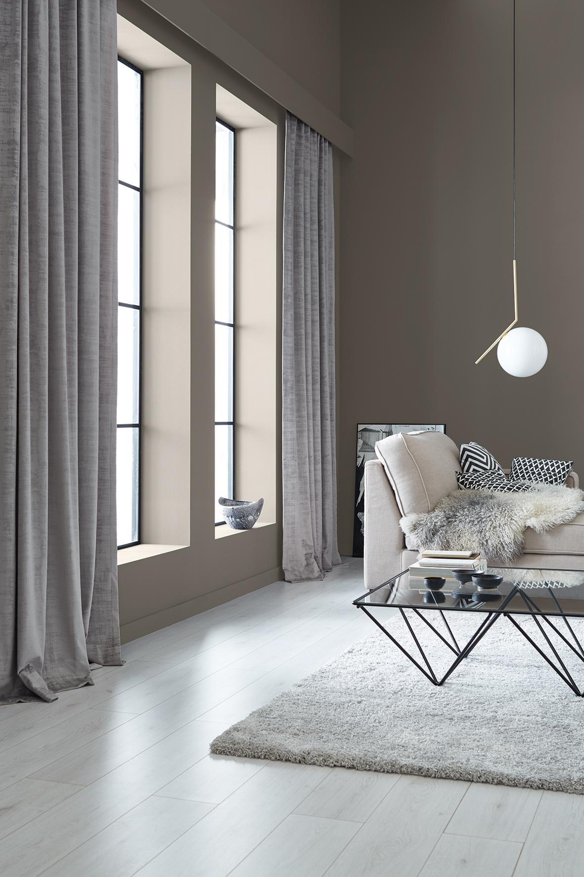 graue wandfarbe bilder ideen couchstyle. Black Bedroom Furniture Sets. Home Design Ideas