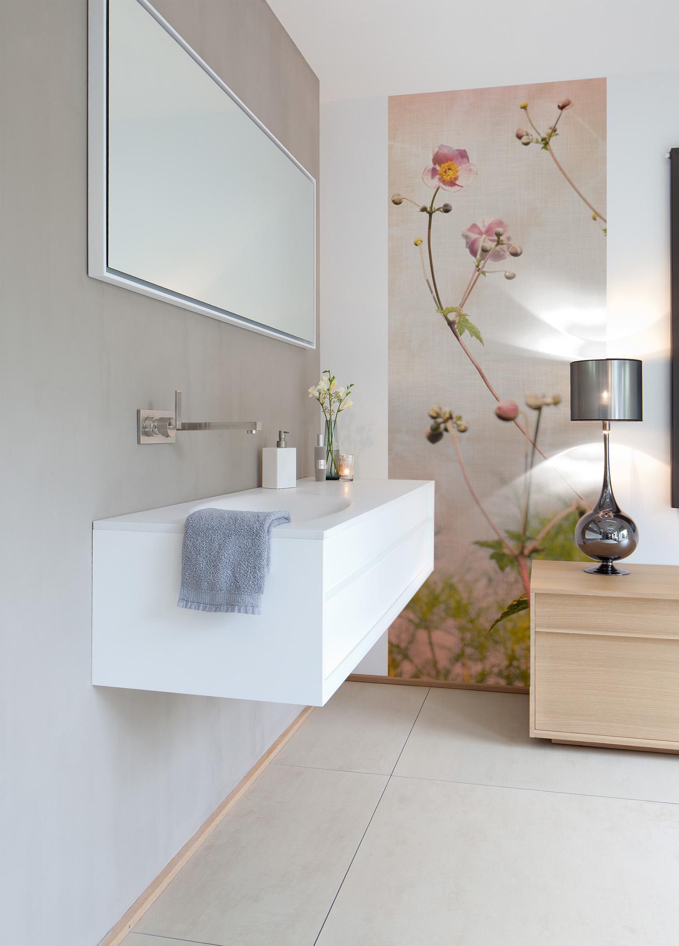 blumentapete bilder ideen couch. Black Bedroom Furniture Sets. Home Design Ideas