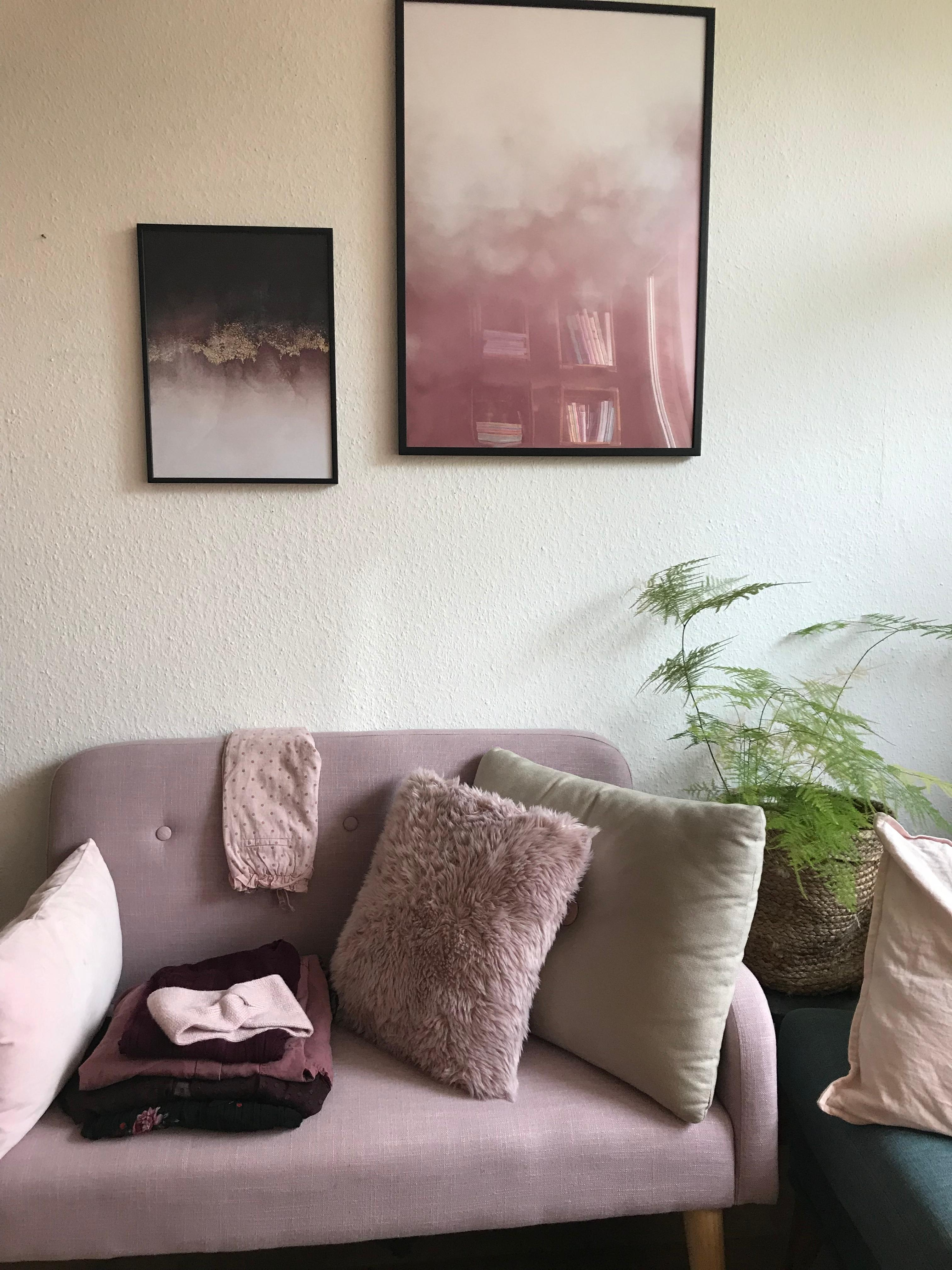 Stunning Rosa Wandfarbe Wohnzimmer Pictures - Farbideen fürs ...
