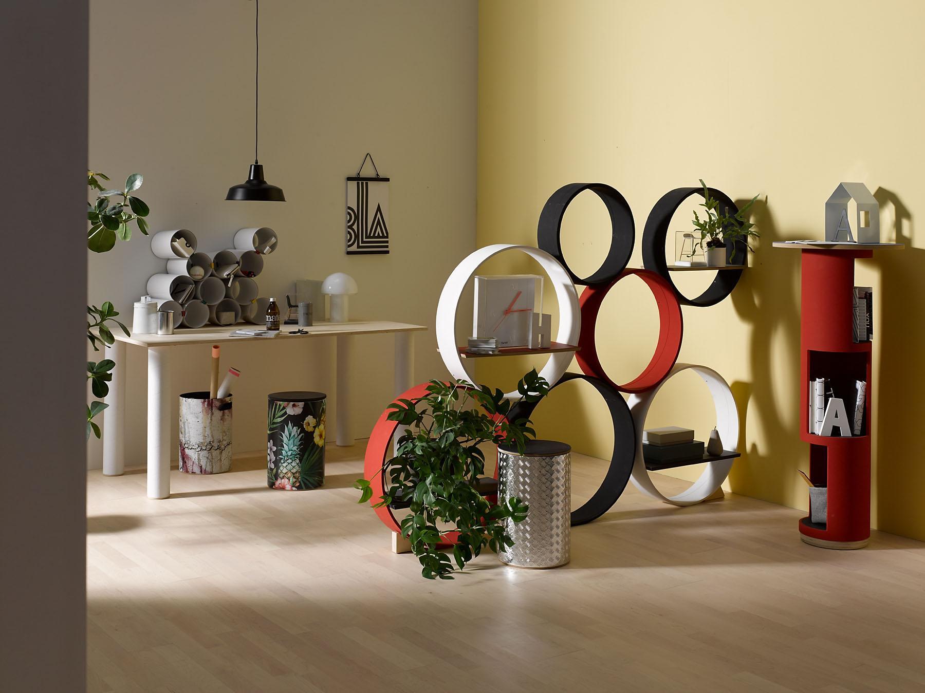 runde bilderdeko bilder ideen couchstyle. Black Bedroom Furniture Sets. Home Design Ideas
