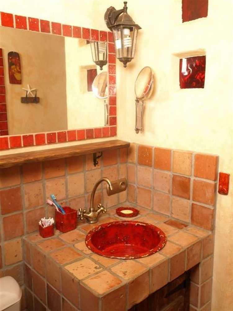 Waschbecken Rustikal keramik waschbecken bilder ideen couchstyle