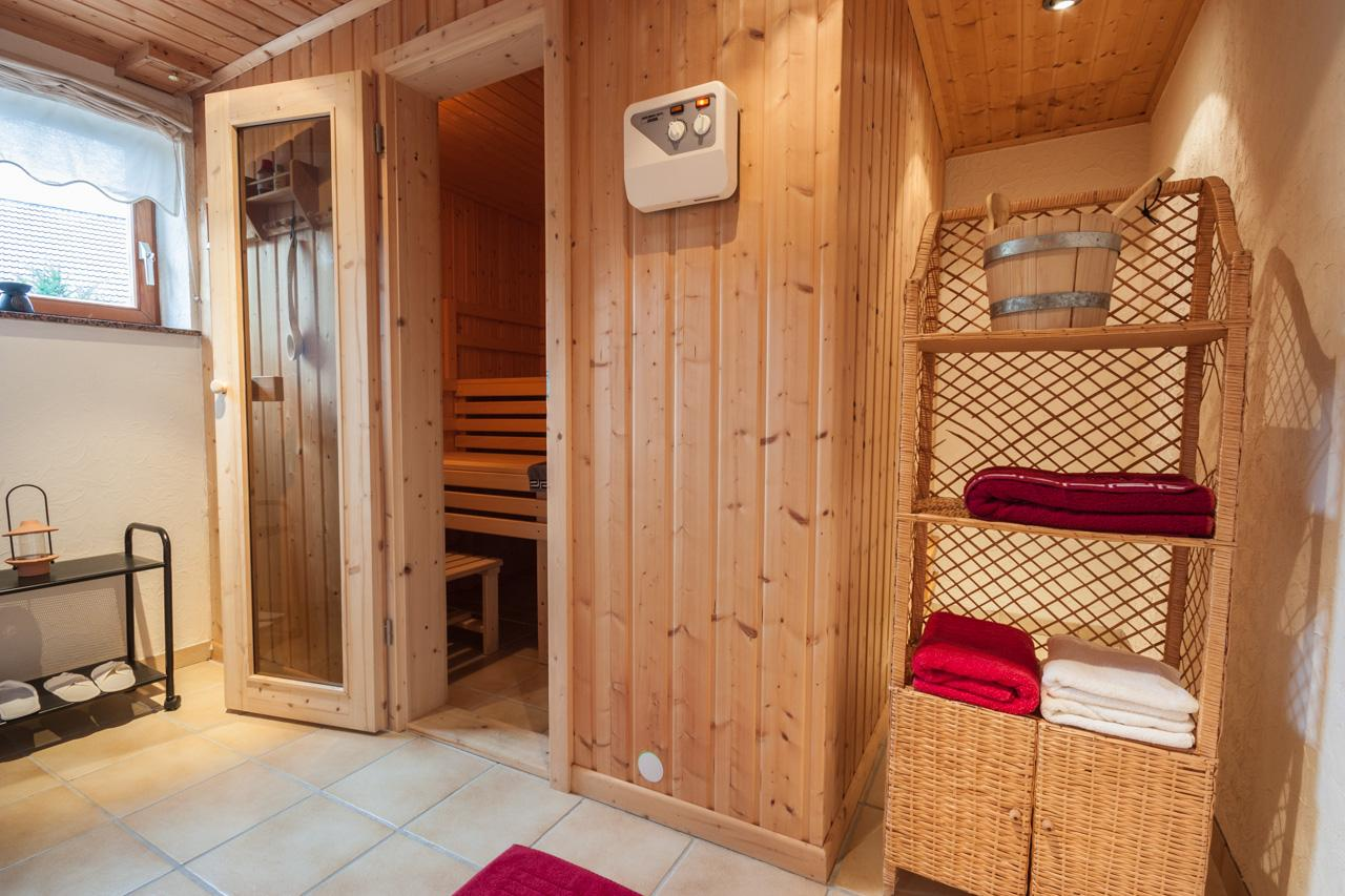 Sauna - nachher #sauna ©IMMOTION Home Staging / Florian Gürbig