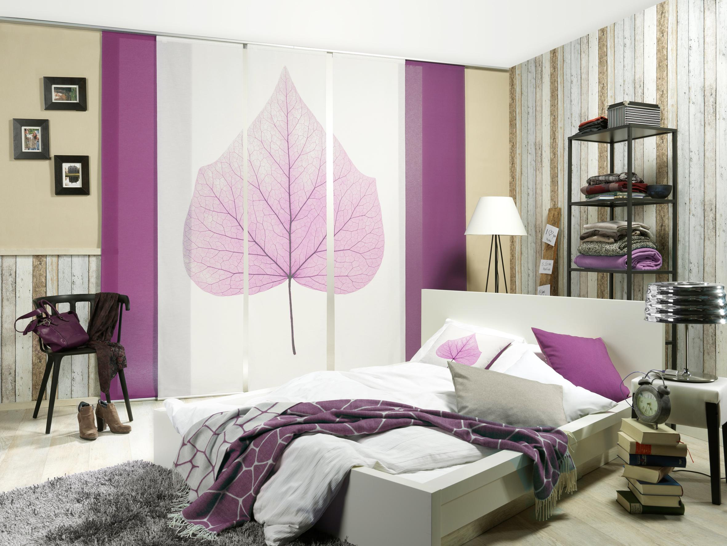 Schiebevorhang Bilder Ideen COUCHstyle - Schiebegardinen schlafzimmer