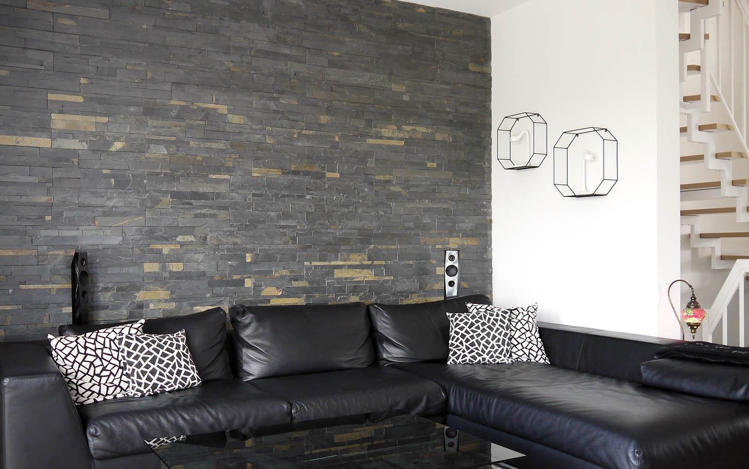 naturstein wand bilder ideen couchstyle. Black Bedroom Furniture Sets. Home Design Ideas