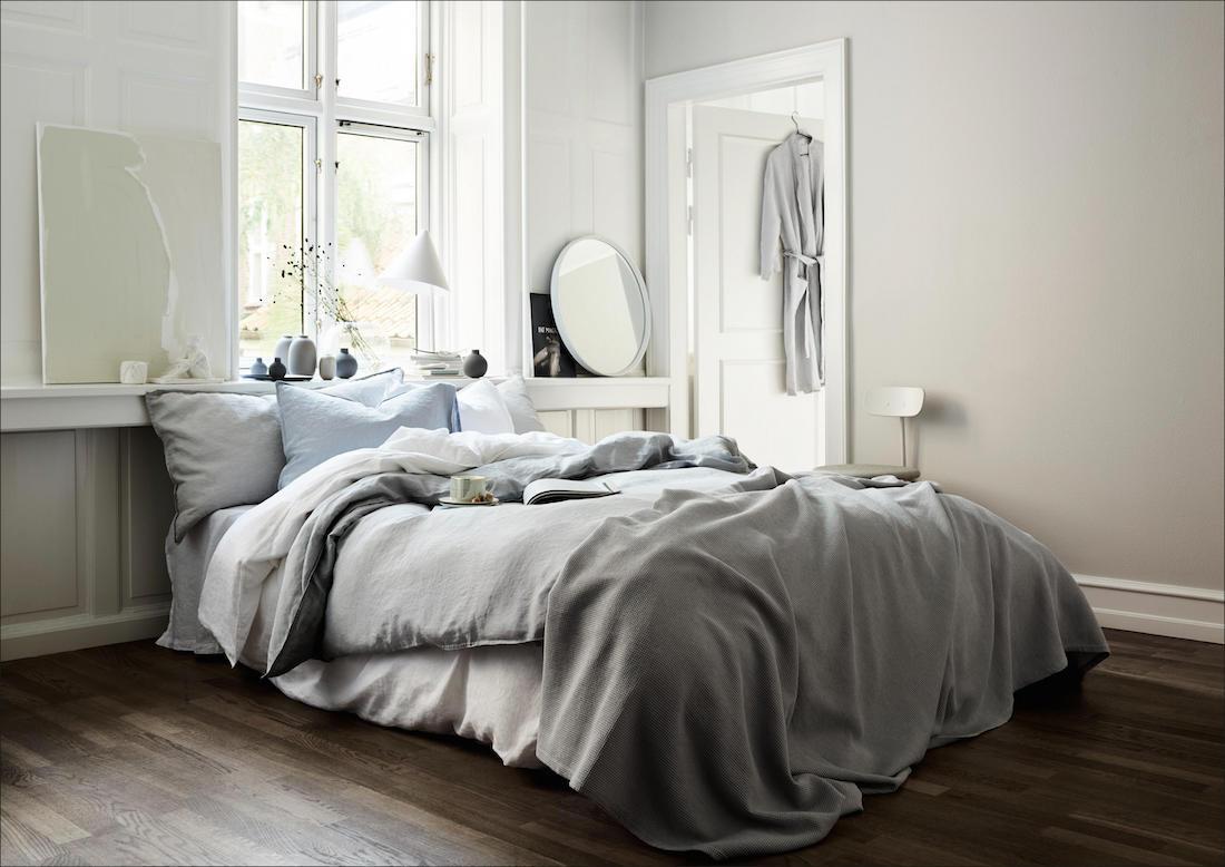 Schlafzimmer-Accessoires aus der H&M Home Spring-Kol...