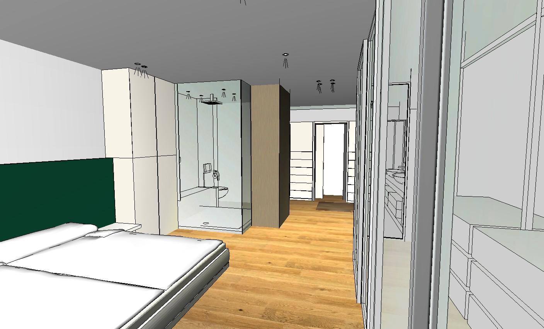 Schlafzimmer #badezimmer #innenarchitektur ©Der Ludw...