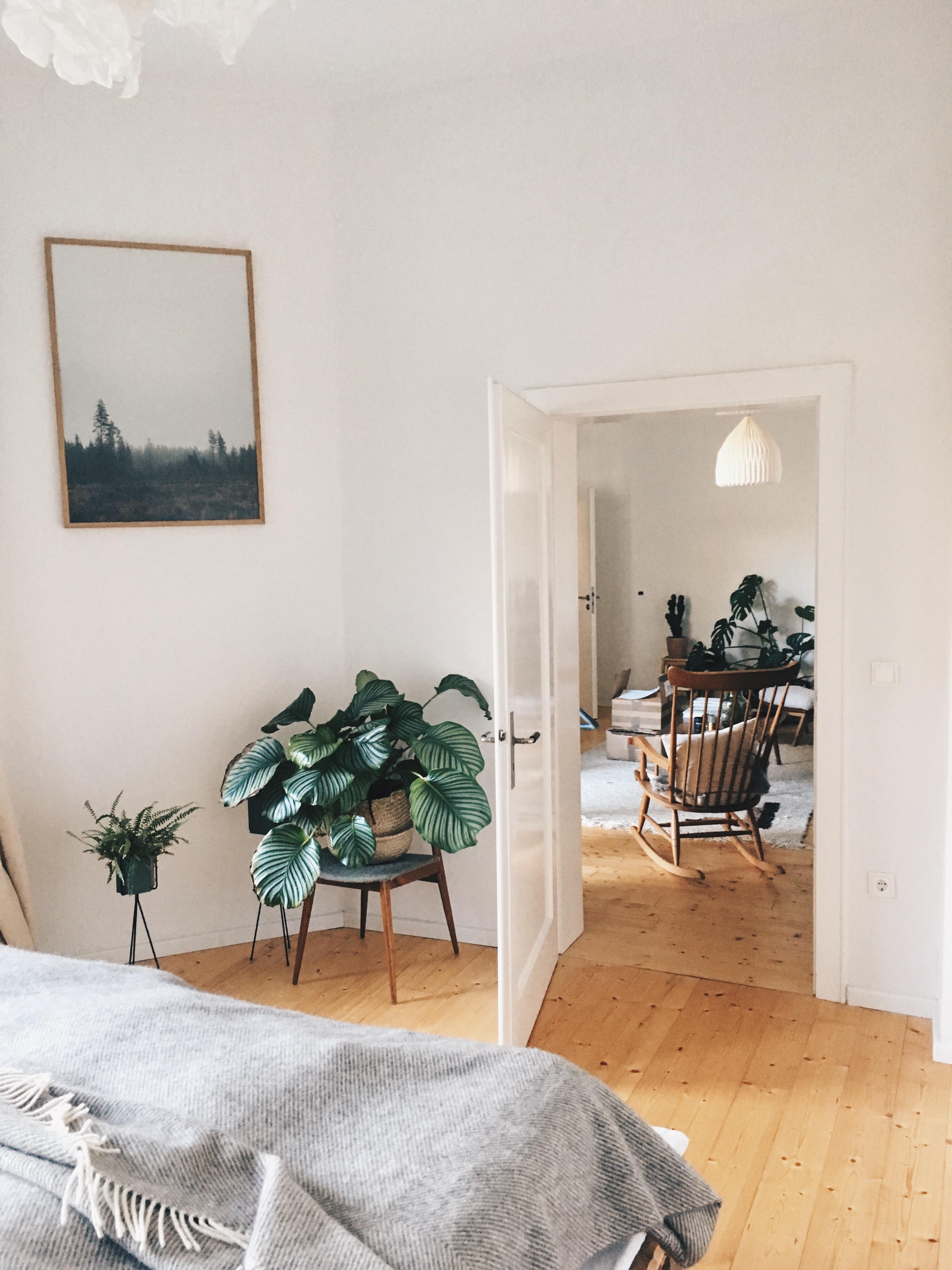 Schlafzimmer bett pflanzen bild mehr braucht es n - Schlafzimmer pflanzen ...