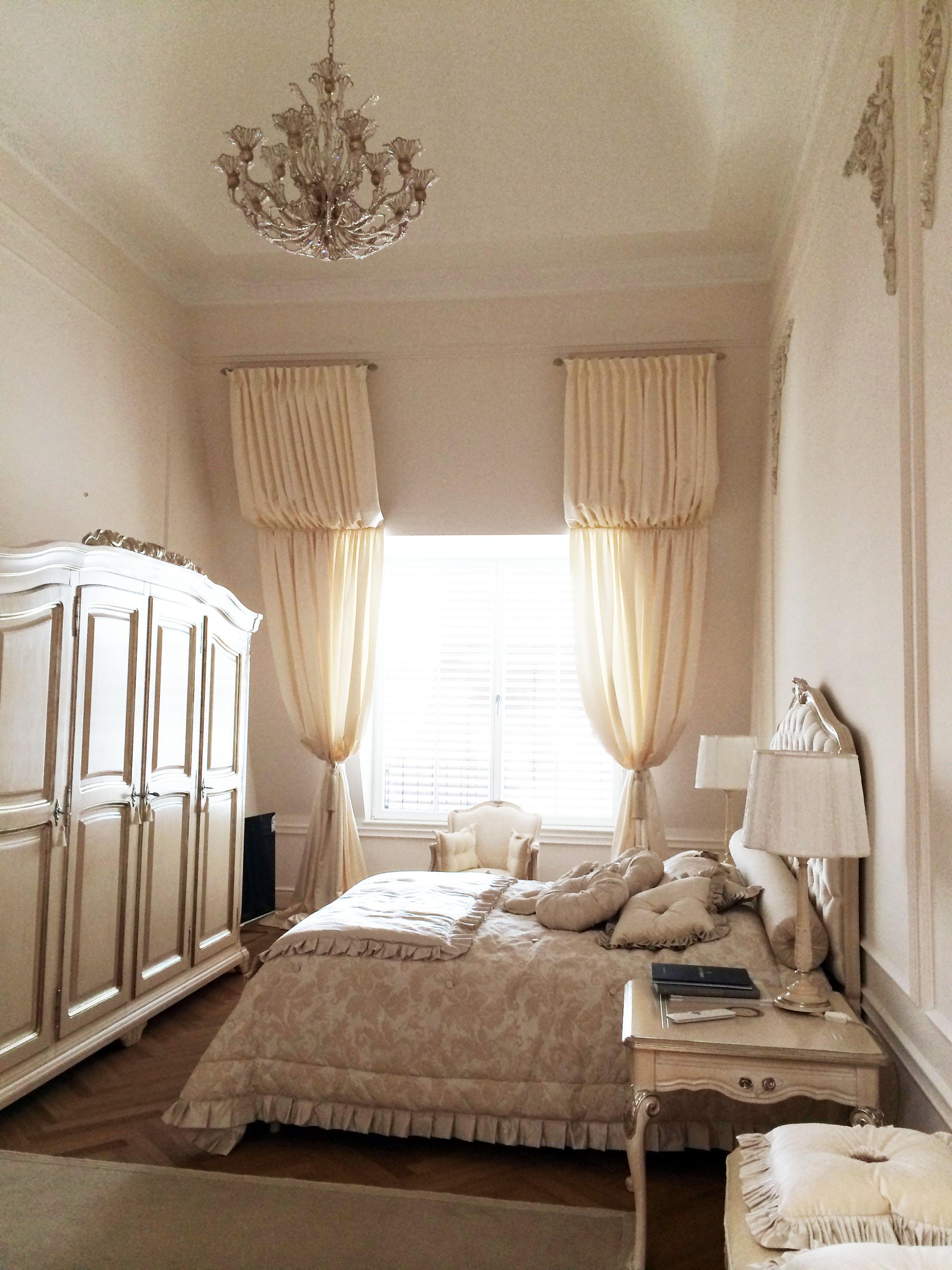 Schlafzimmer Dachgeschoss #bett #dachgeschoss #kisse...