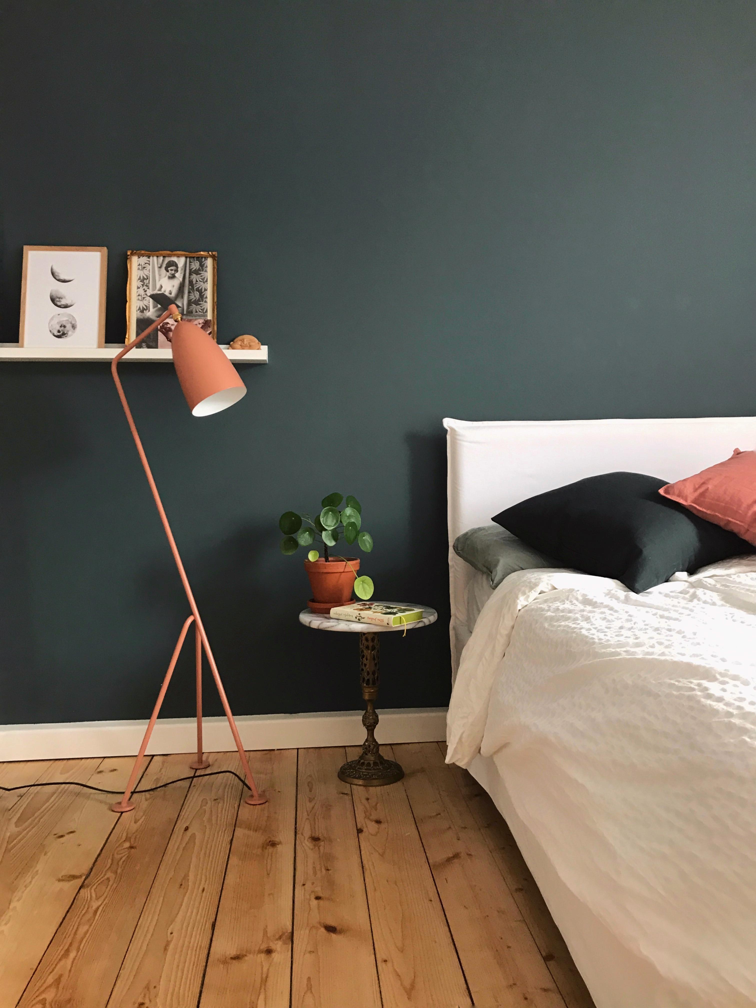 #schlafzimmer #livingchallenge #grün #altrosa #farben #gemütlichkeit