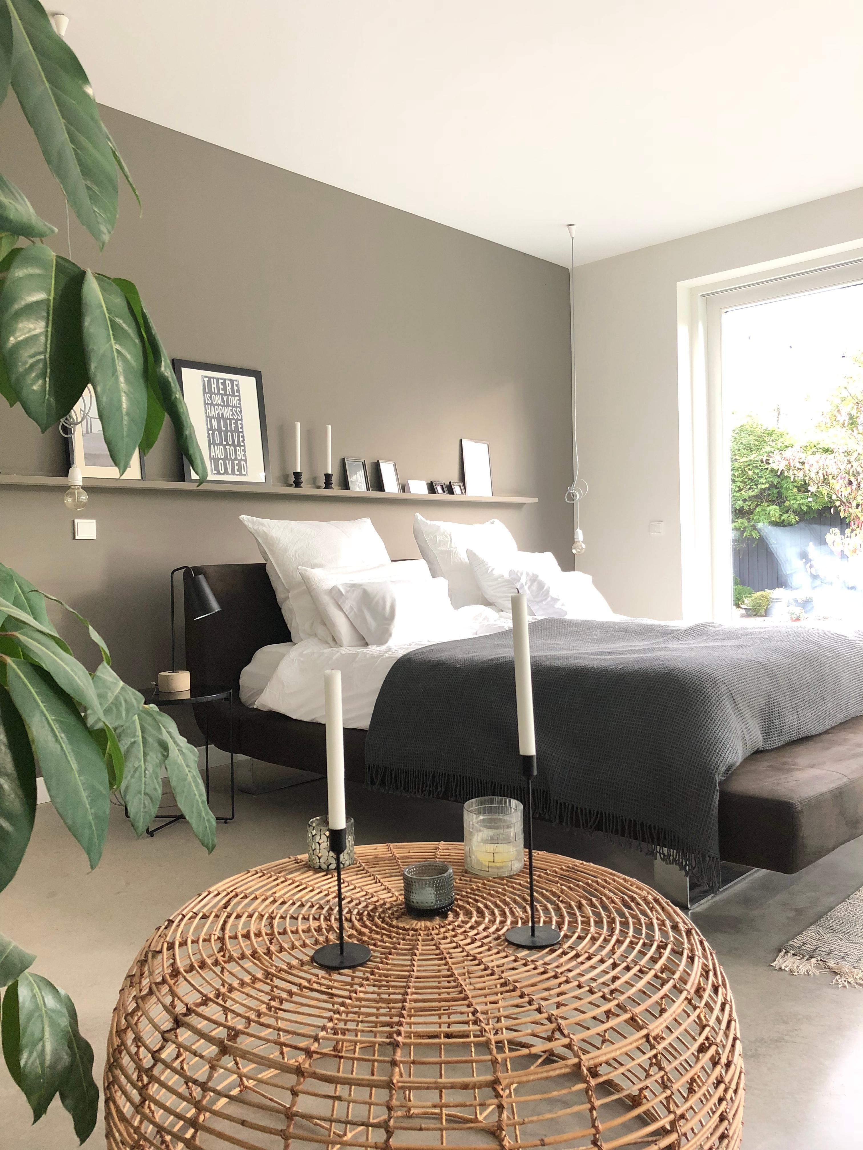schlafzimmer #minimalistisch #scandinavisch #grau #...