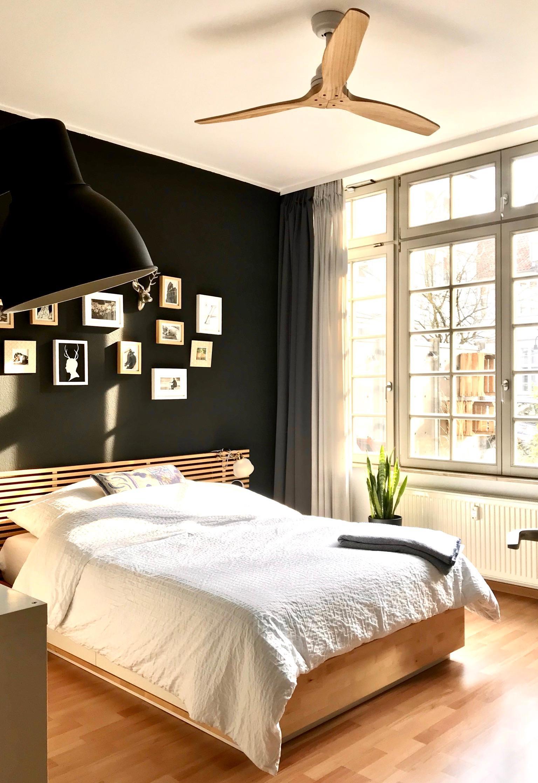Schlafzimmer Mit Schwarzer Wand Black Schlafzimmer